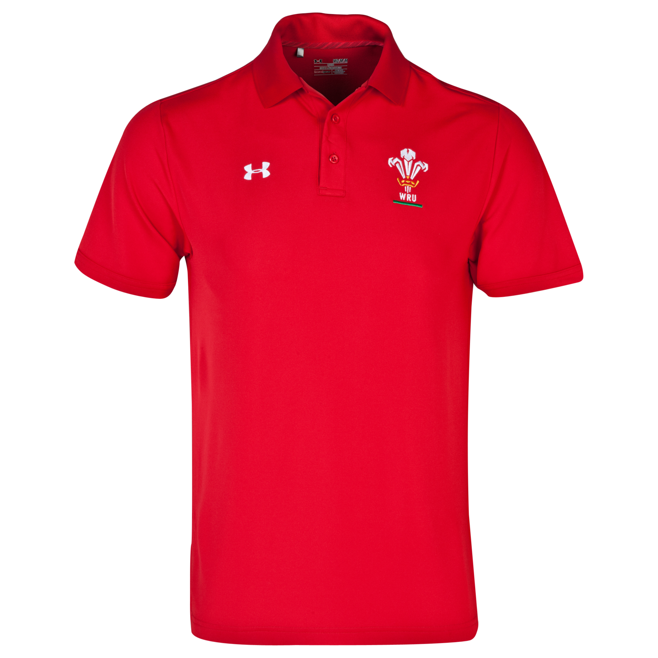Wales Rugby Union IOF Charged Polo - Red