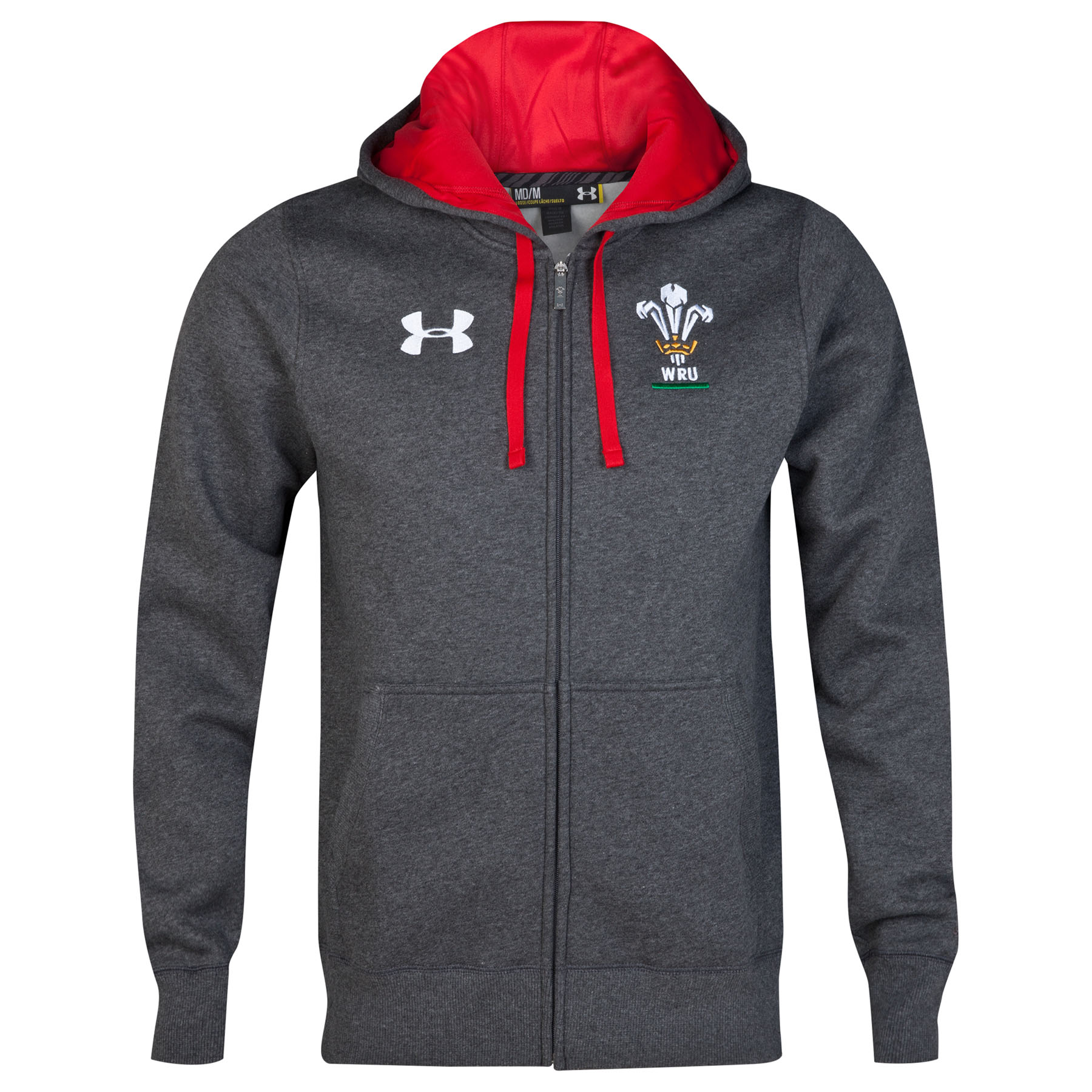 Wales Rugby Union IOF FZ Storm Hoody - CBH