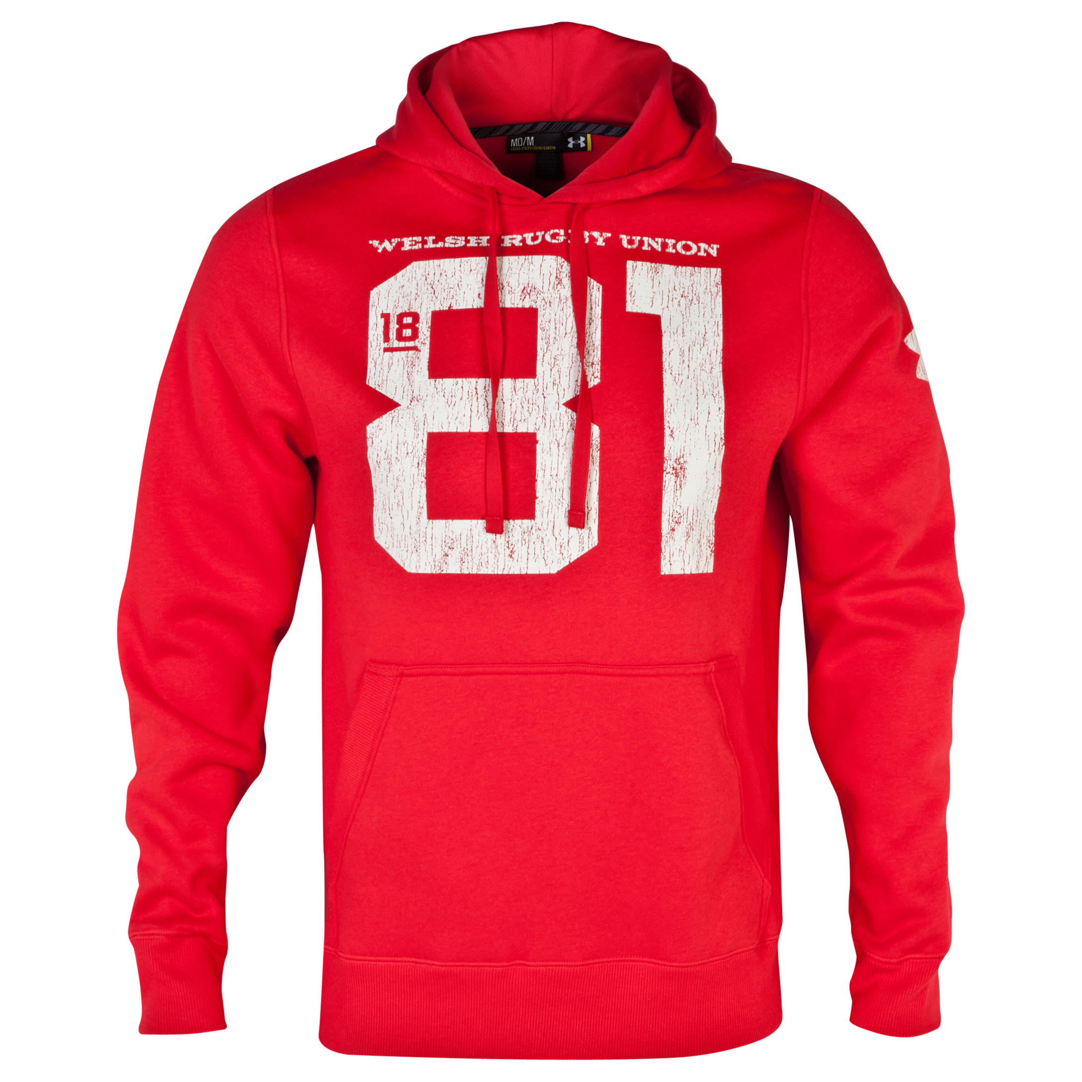 Wales Rugby Union Storm Hoody - Red