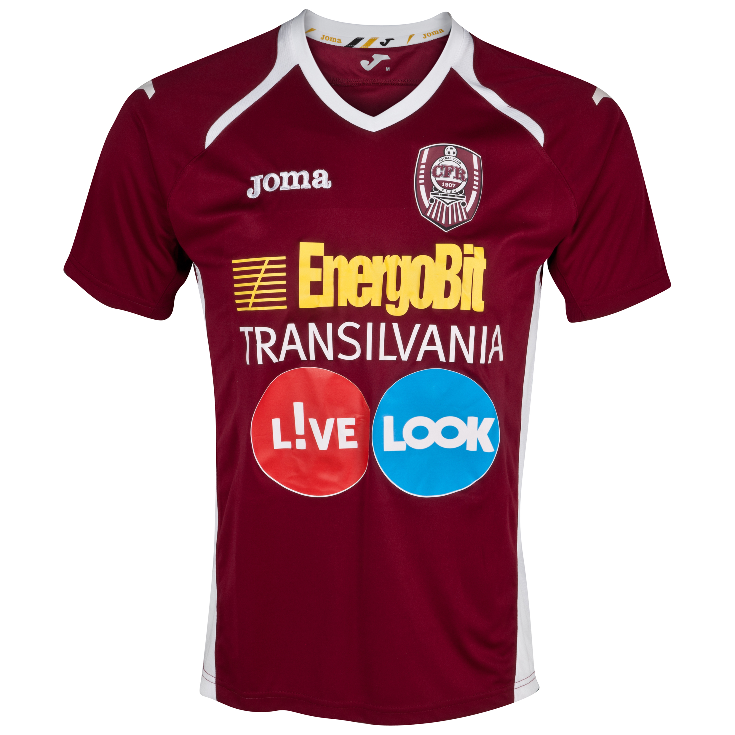 CFR Cluj Home Shirt 2012/13
