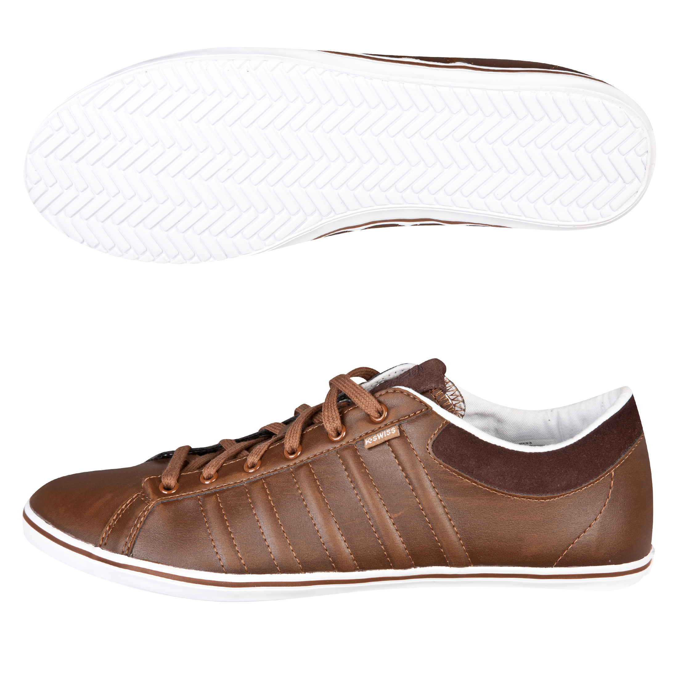 K-Swiss Hof IV Plimsol - Cowboy Brown/White
