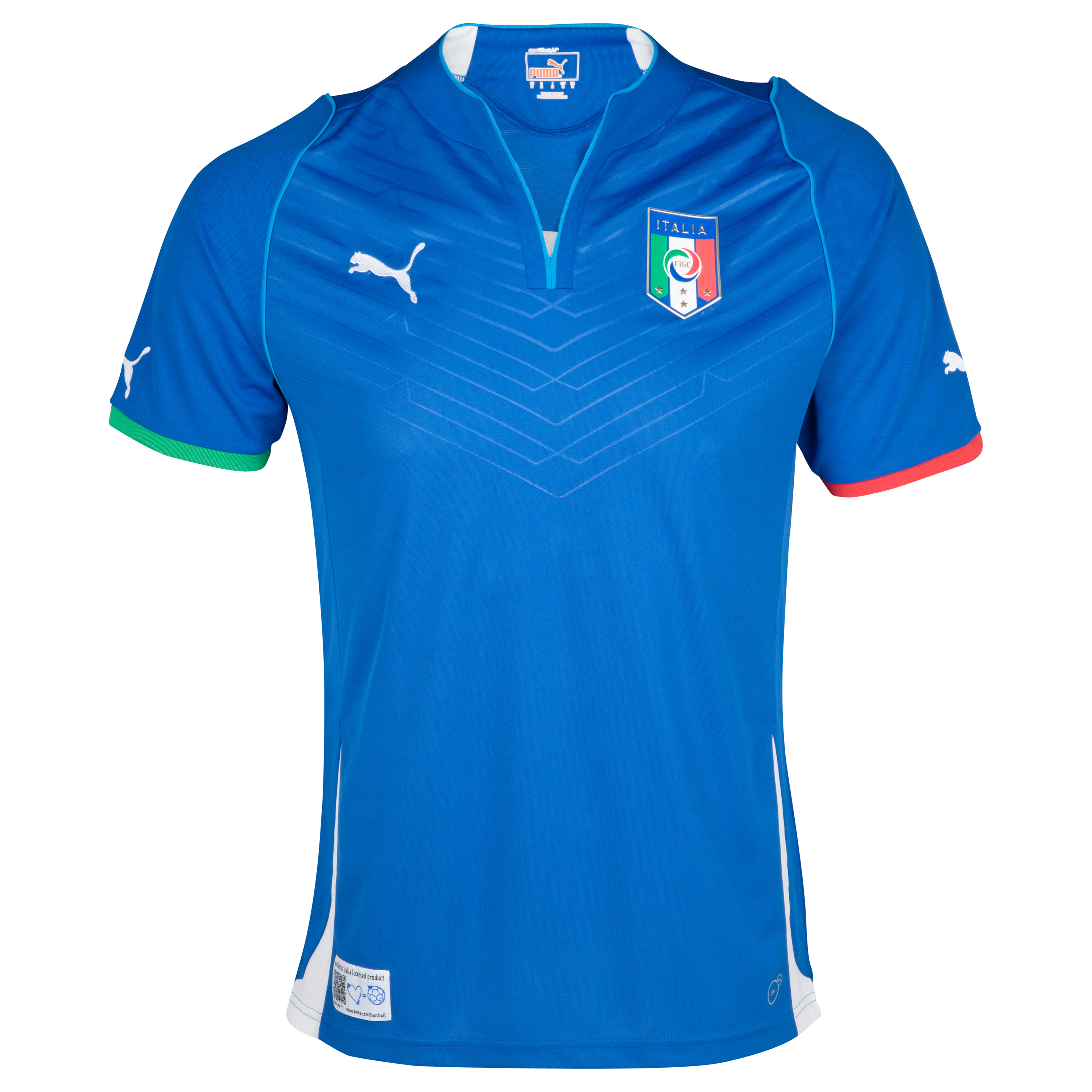 Italy Confederations Cup Home Shirt 2013 with Balotelli 9 printing