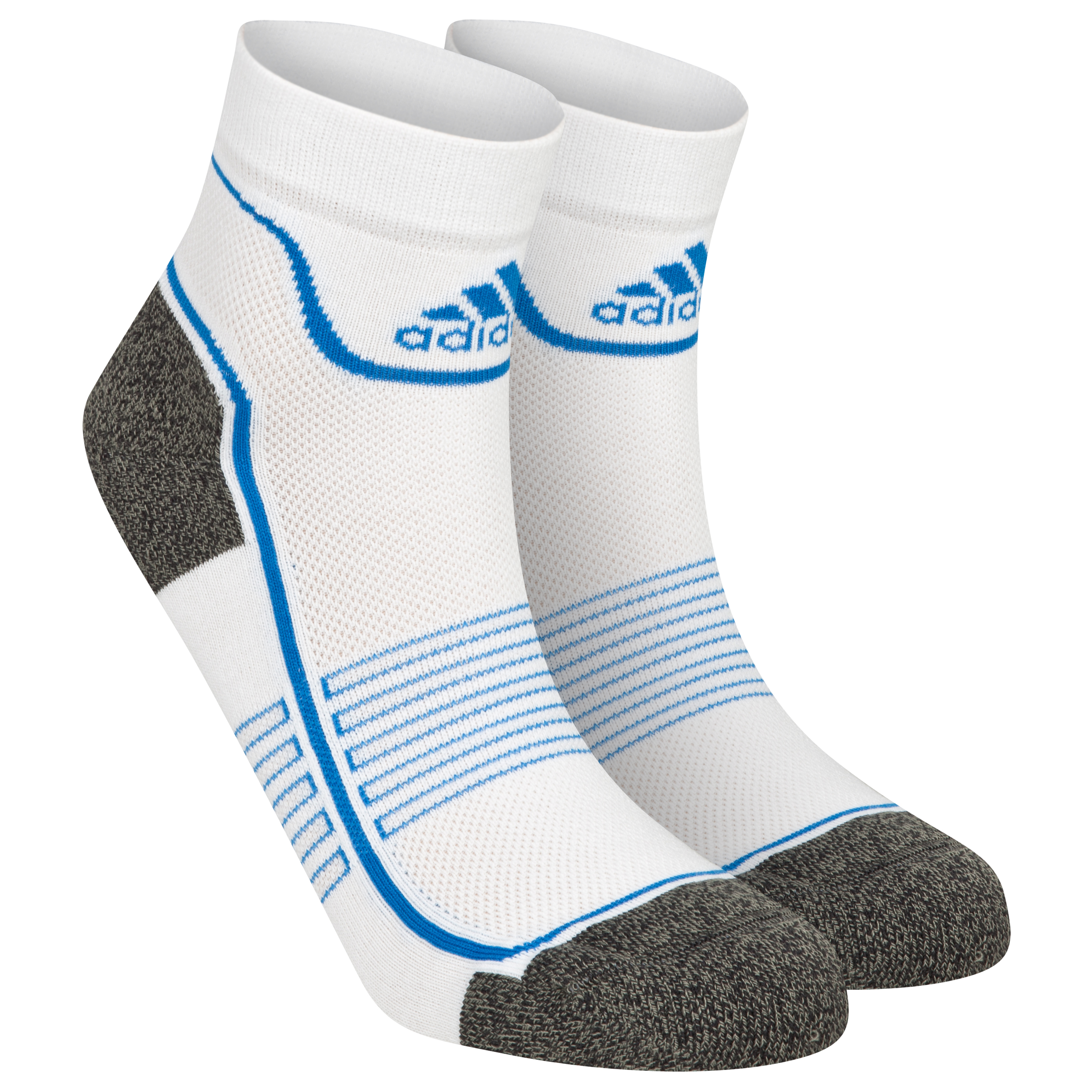 adidas FT Ankle 1pack Sock - White/Dark Grey/Prime Blue