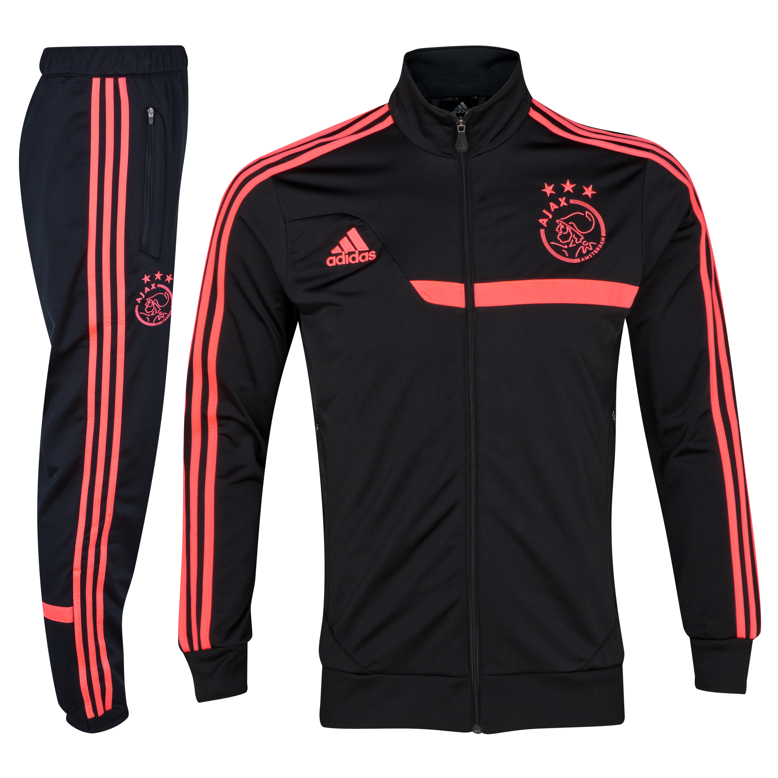 Ajax Presentation Suit - Black/Red Zest