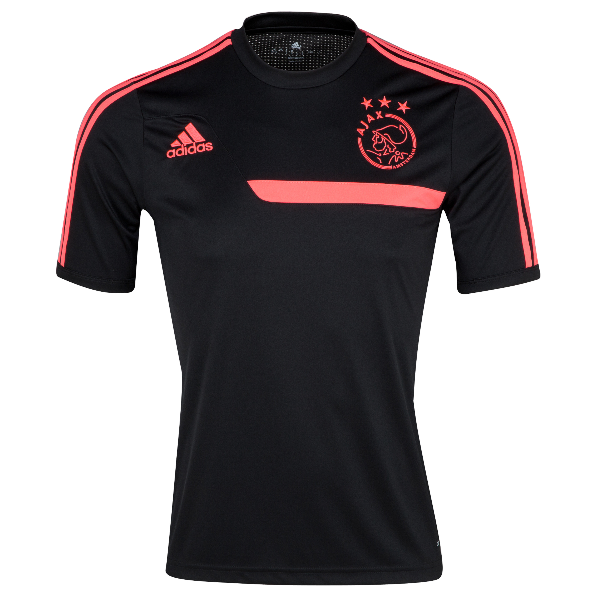 Ajax Training Jersey - Black/Red Zest
