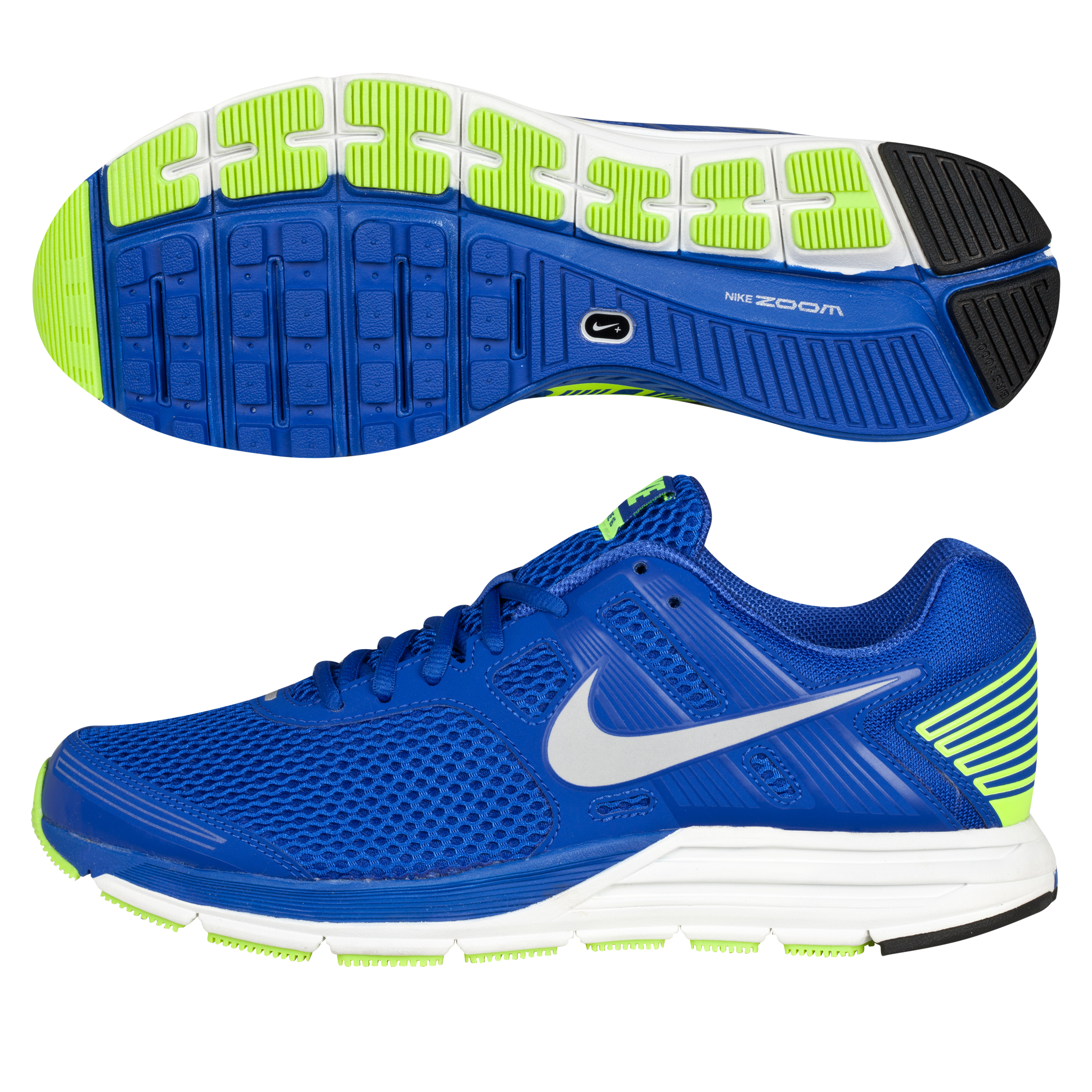 Nike Zoom Structure+ 16 Trainer - Hyper Blue/Reflective Silver/Volt/White