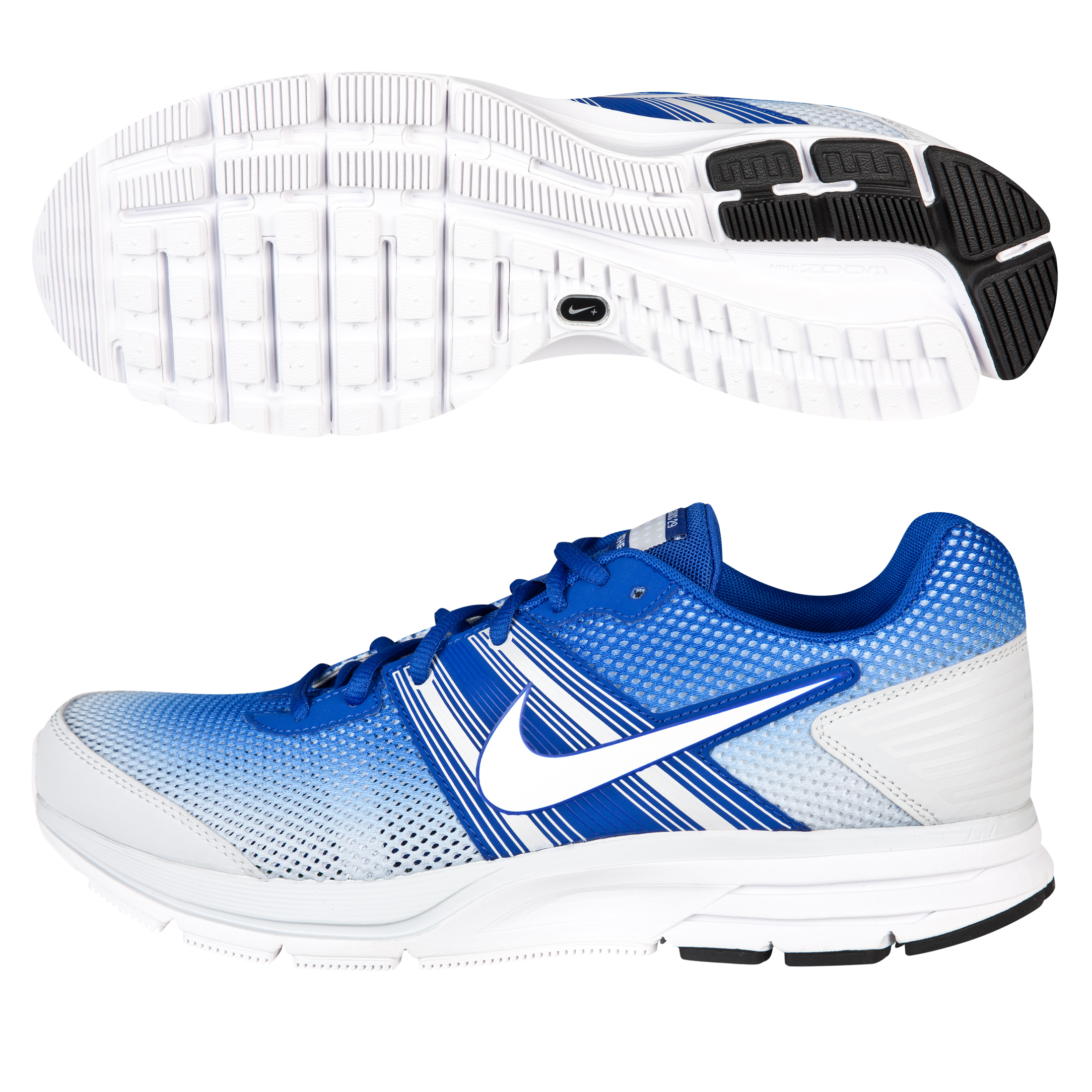 Nike Air Pegasus+ 29 (Breathe) Trainer - Hyper Blue/ White Pure Platinum