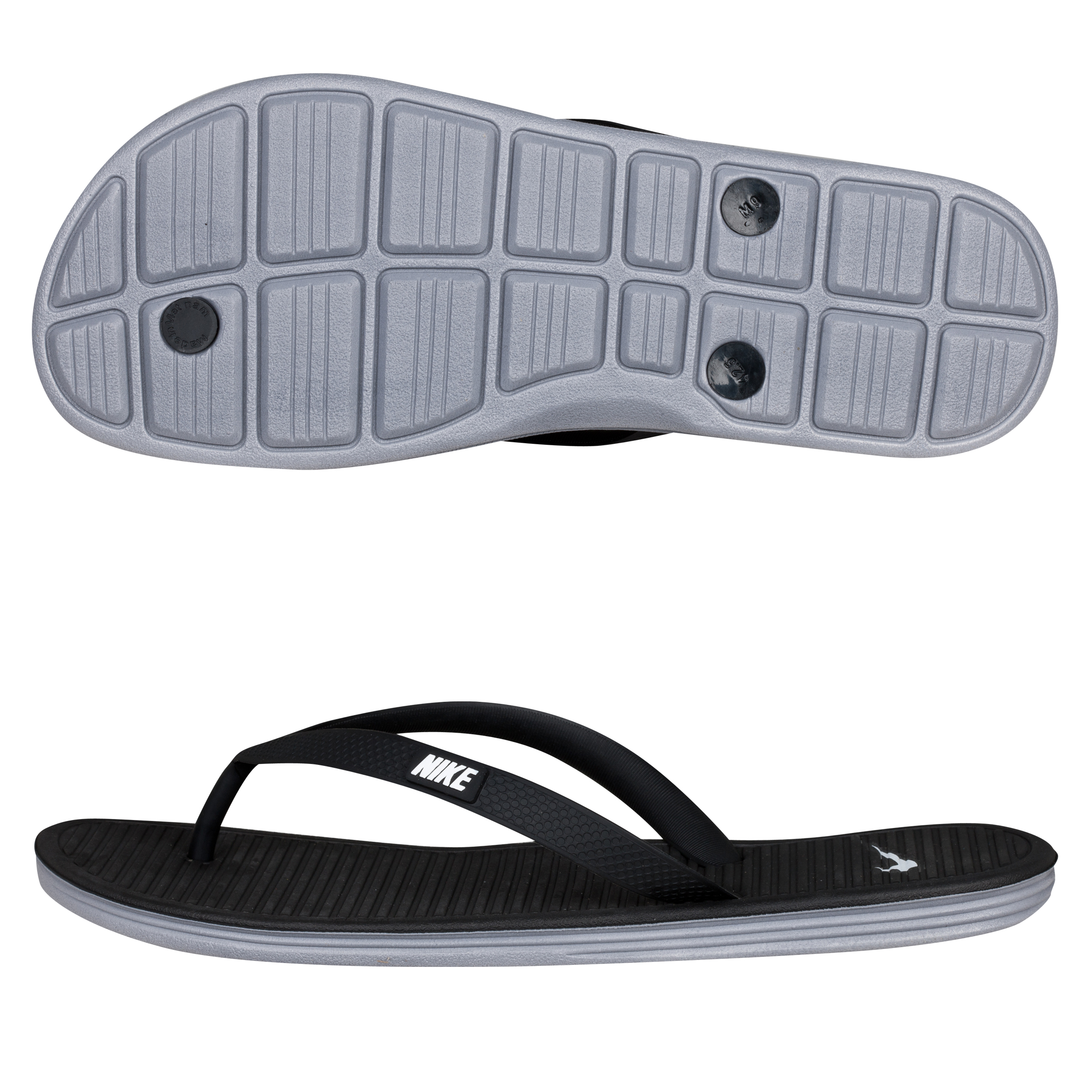 Nike Solarsoft Thong II - Black/White Stealth