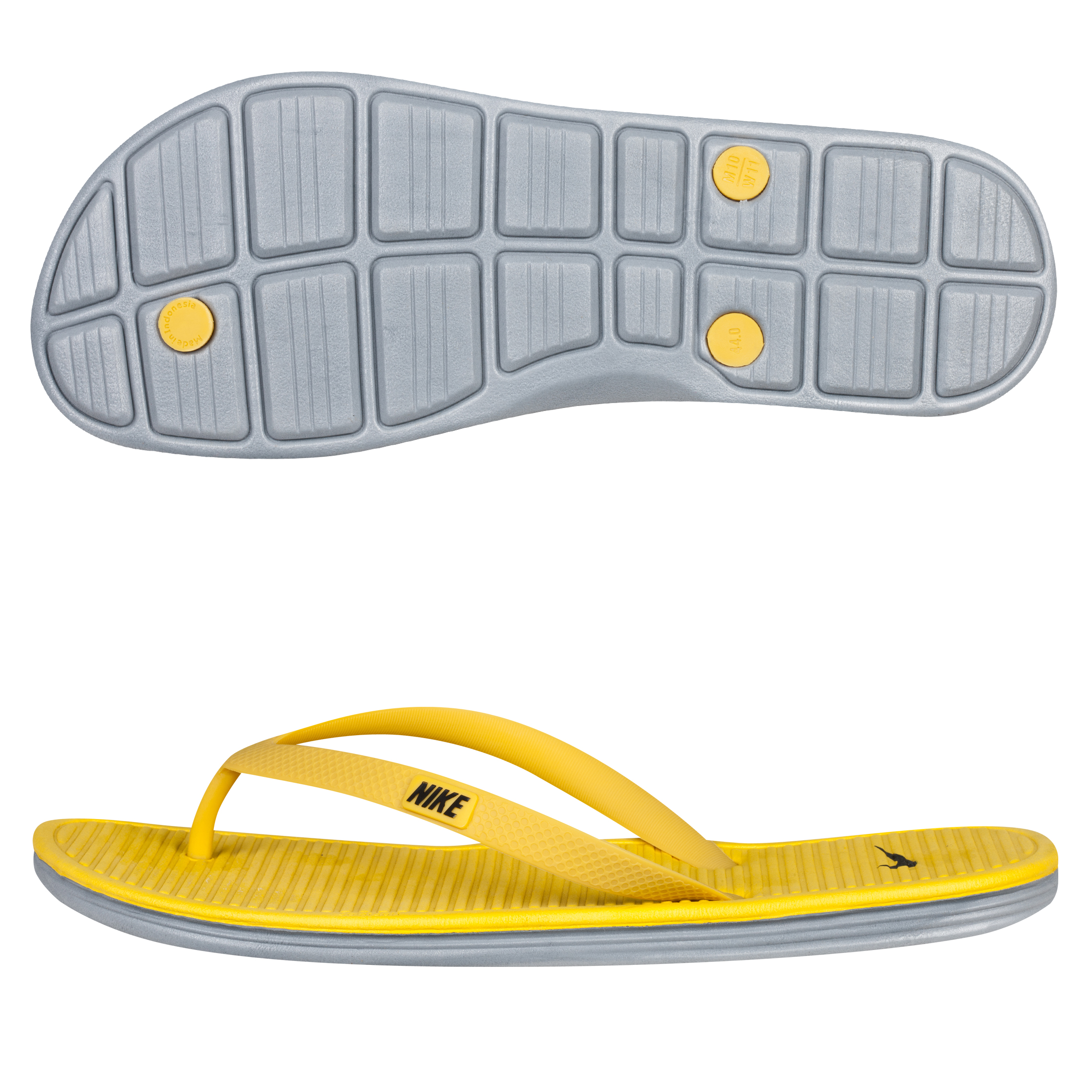 Nike Solarsoft Thong II - Vivid Sulfur/Black-Stealth