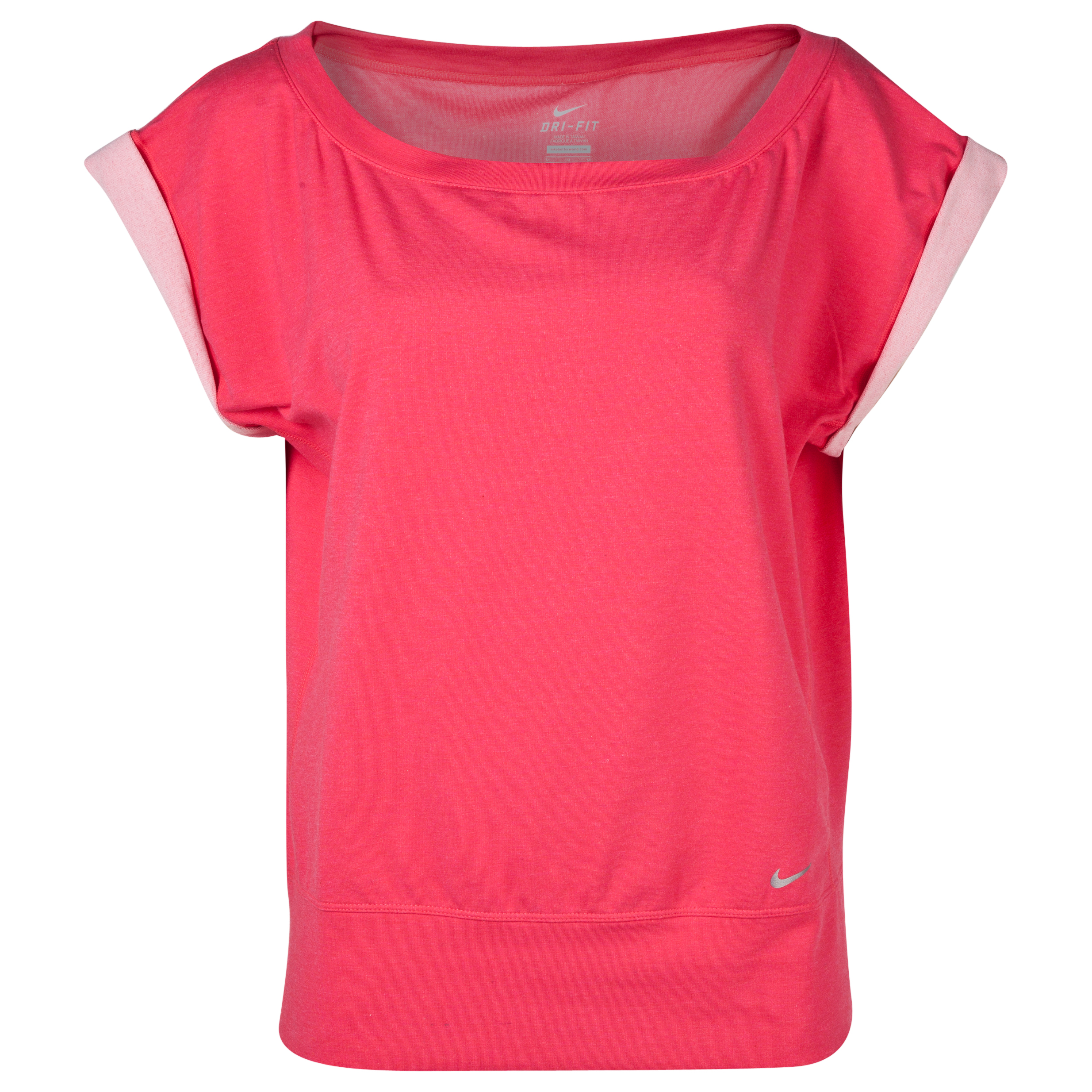 Nike Vapor Short Sleeve Epic Crew - Pink - Womens