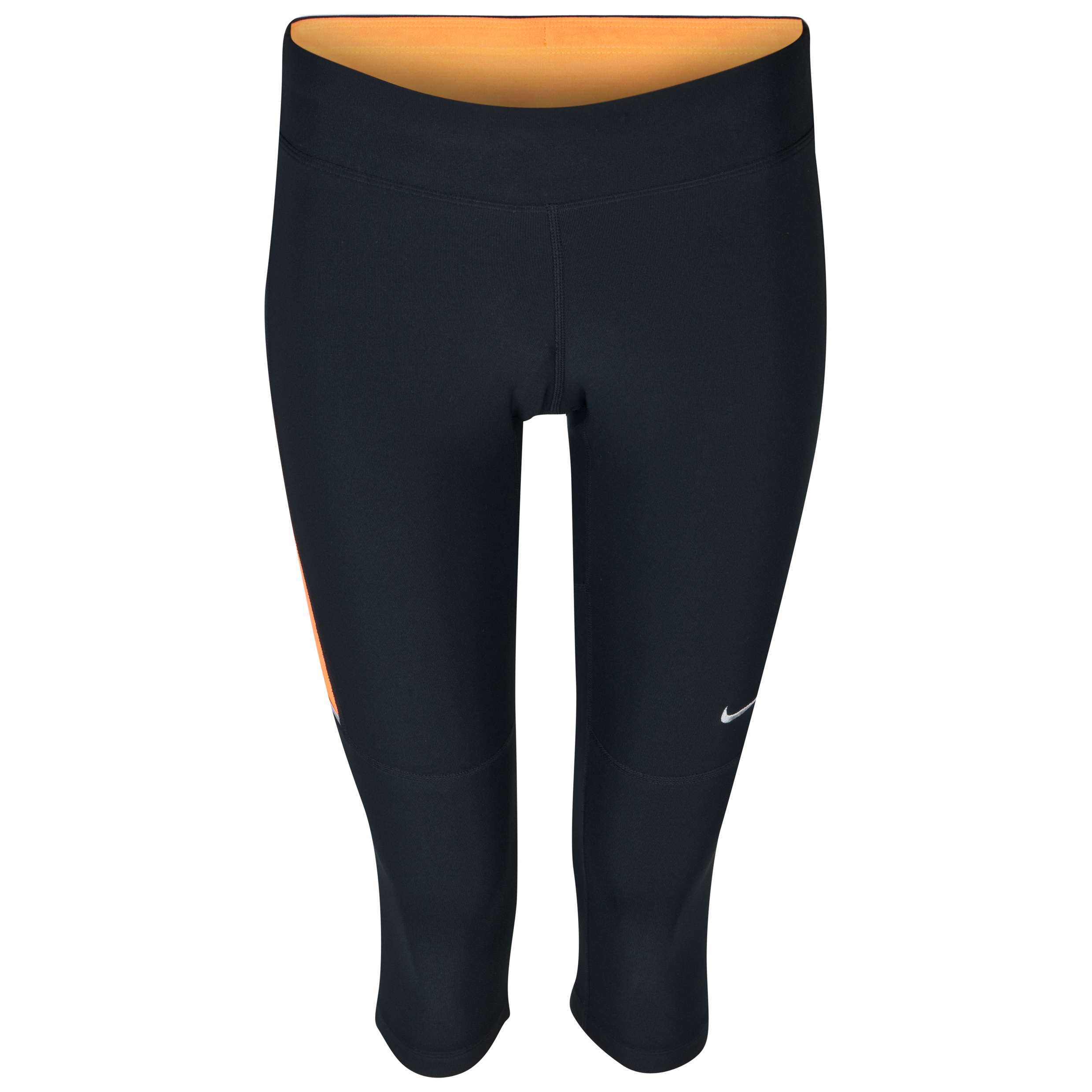 Nike Filament Capri - Black/Bright Citrus-  Womens