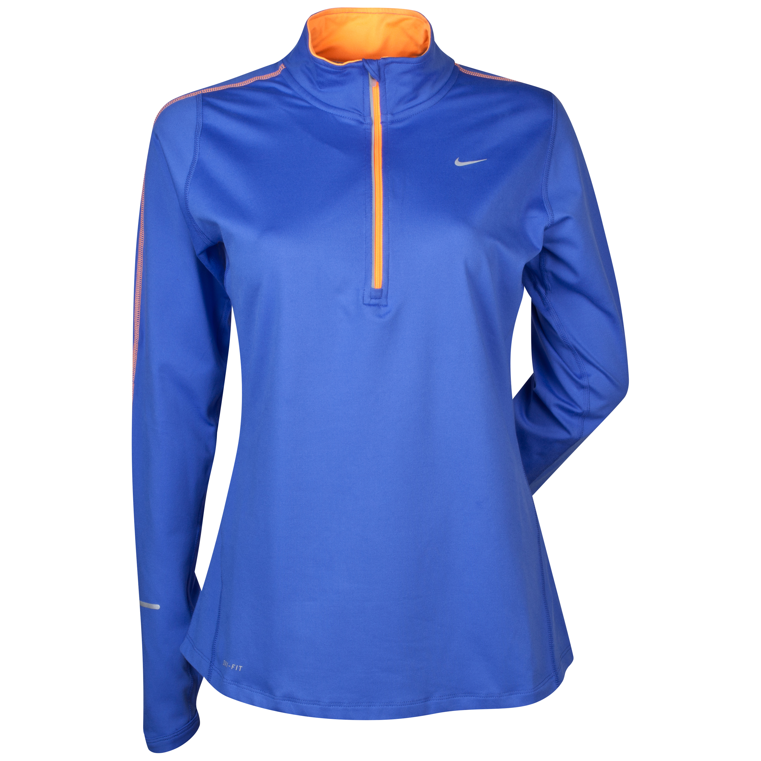 Nike Element Half Zip - Purple - Womens