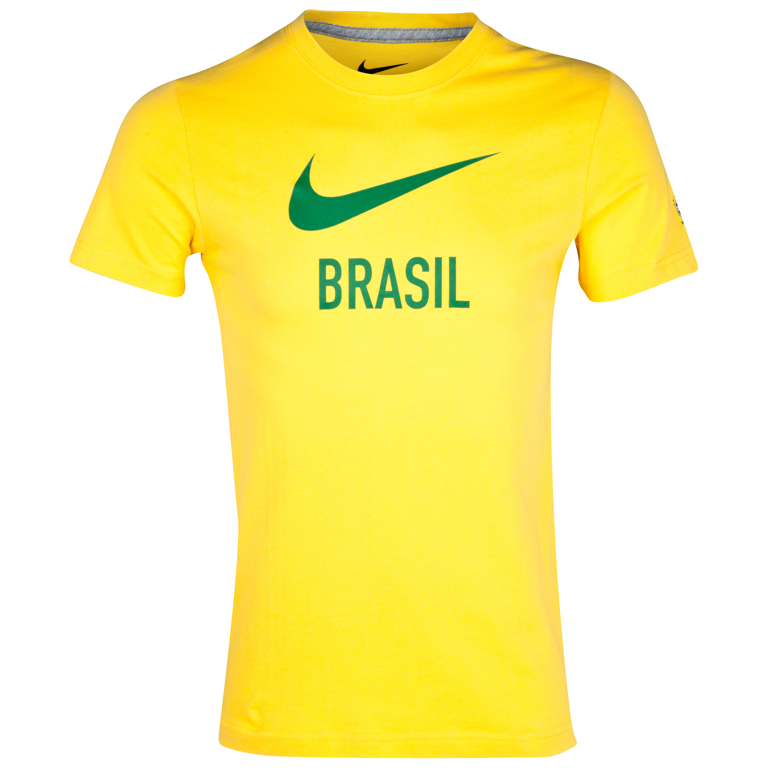 Brazil Core Basic Type T-Shirt - Varsity Maize/Dark Grey Heather