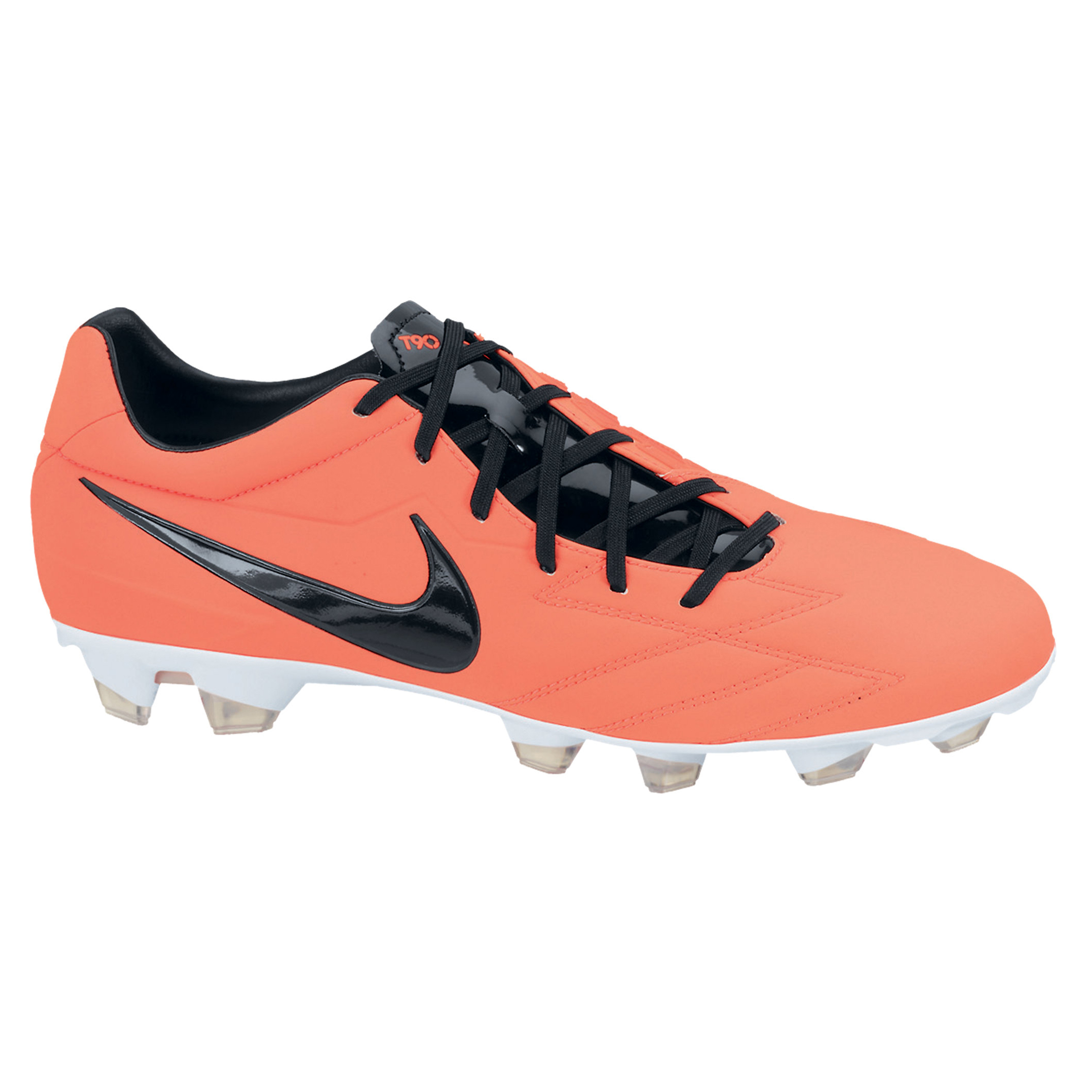 Nike Total90 Strike IV Firm Ground Football Boots - Bright Mango/Black/Total Crimson/White