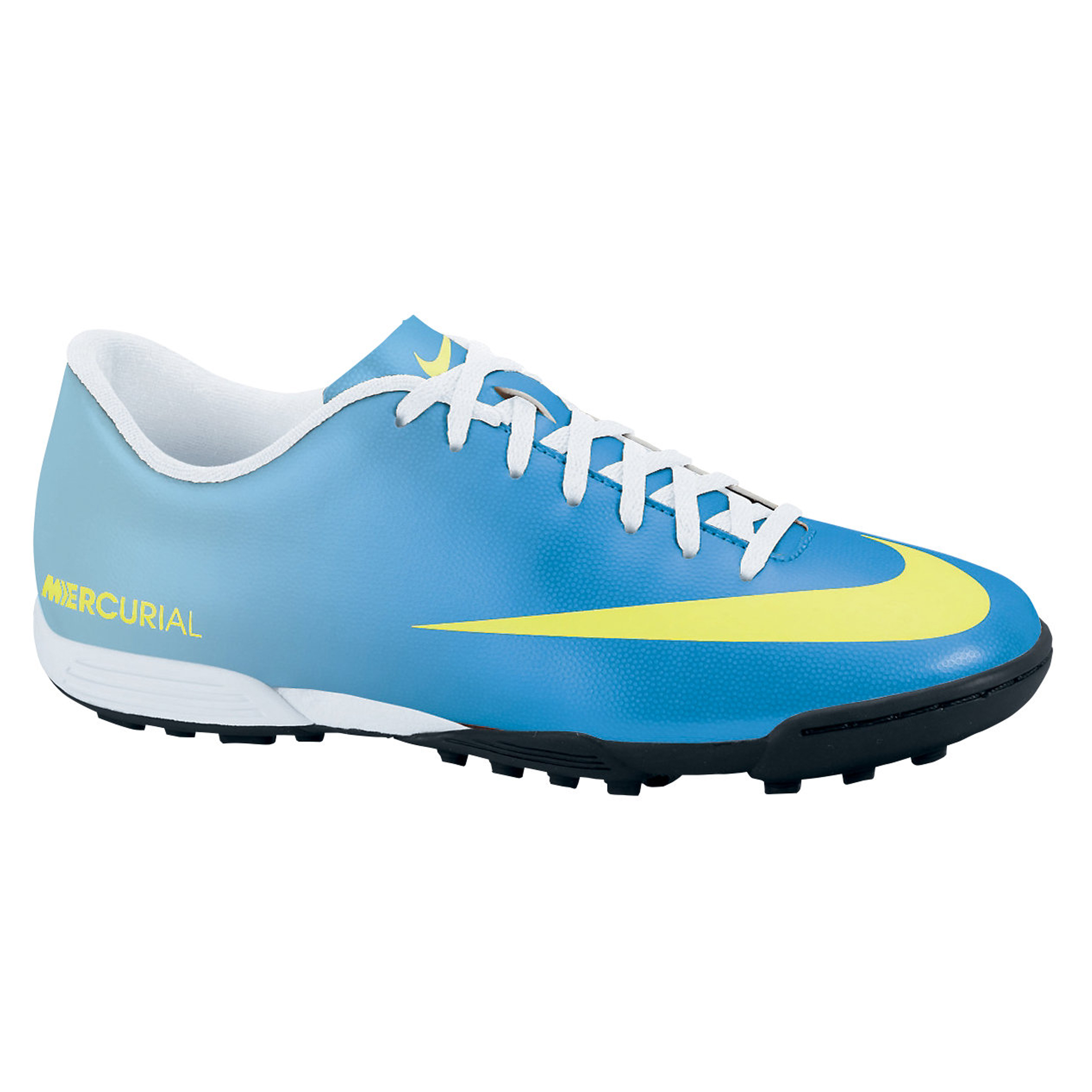 Nike Mercurial Vortex Astroturf Trainers - Neptune Blue/Volt/Toad Pool Blue