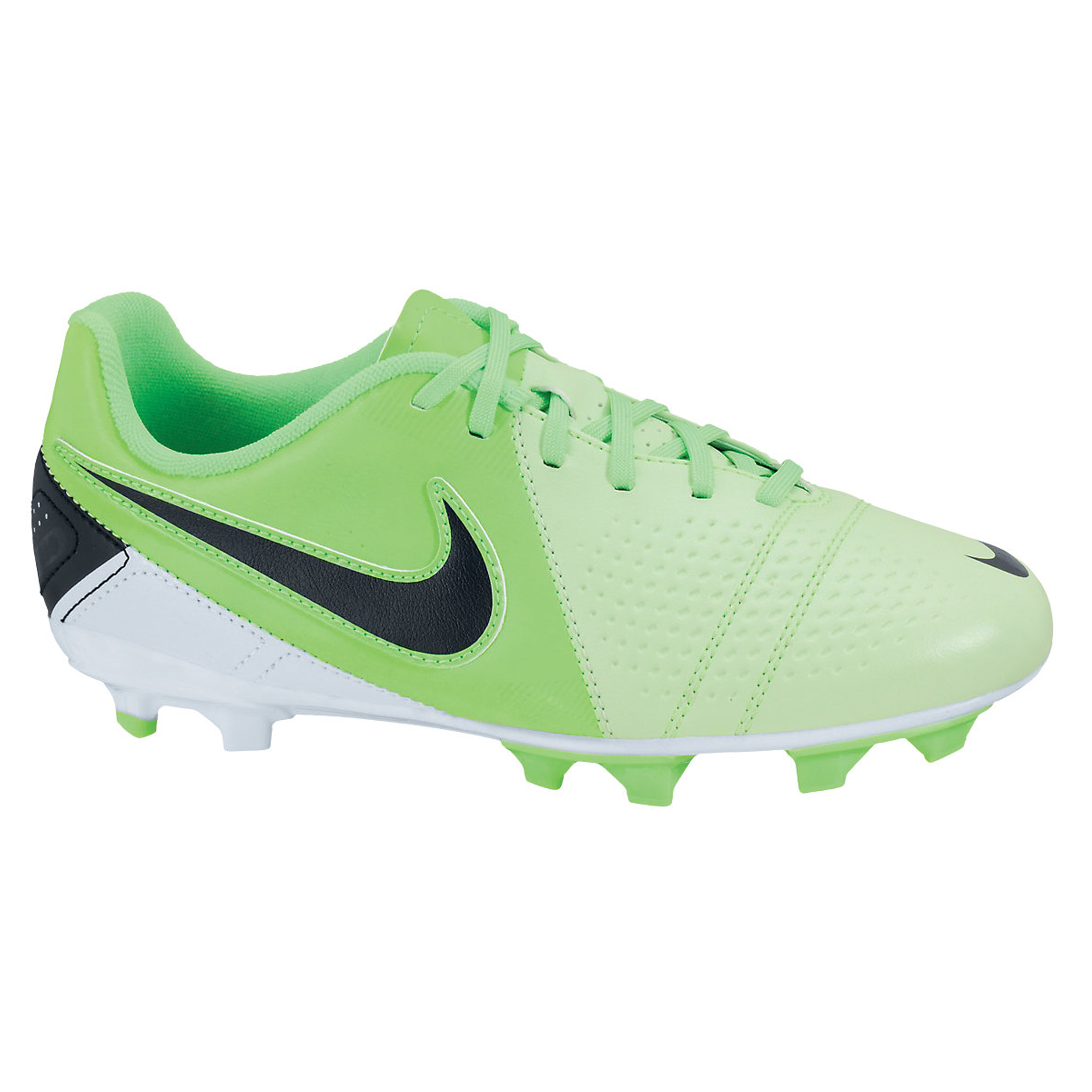 Nike CTR360 Libretto III Firm Ground Football Boots - Fresh Mint/Black/Neo Lime - Kids