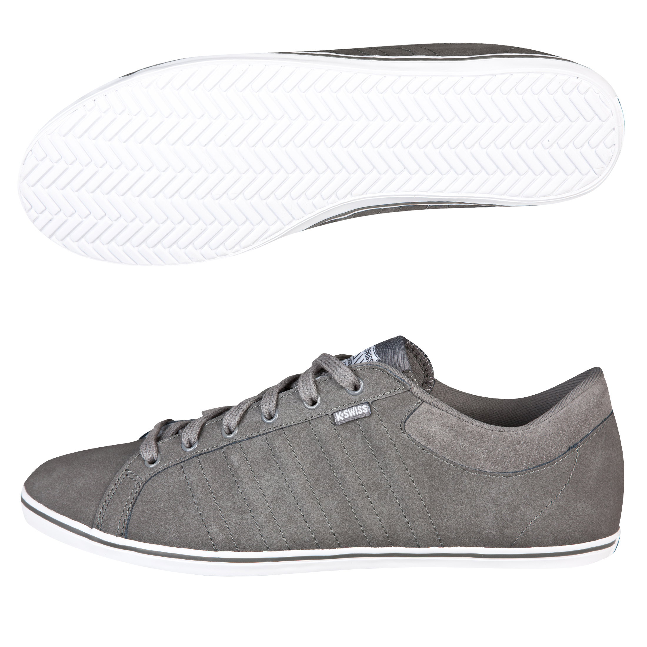 K-Swiss Hof IV Plimsol - Carbon Grey/White