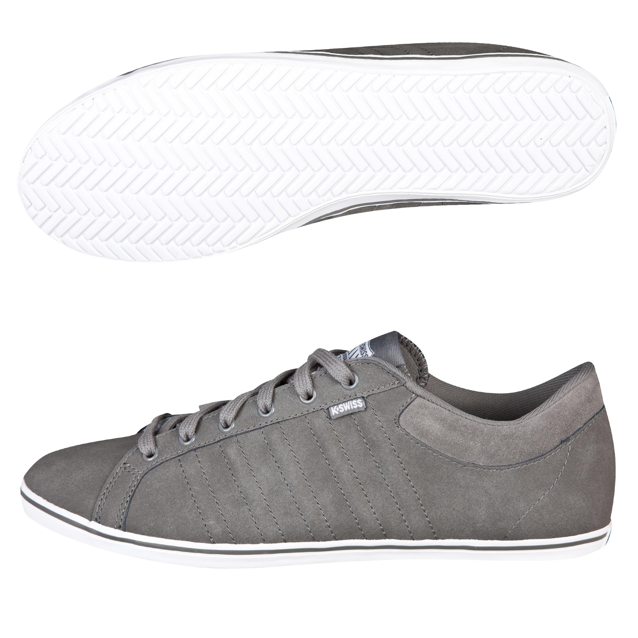 K Swiss K-Swiss Hof IV Plimsol - Carbon Grey/White
