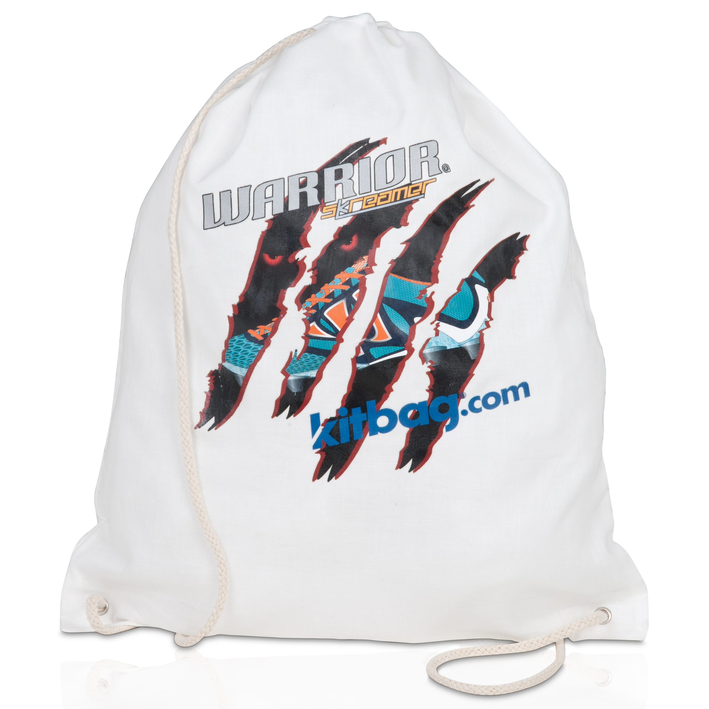 Warrior Skreamer Kitbag Gymsac - White