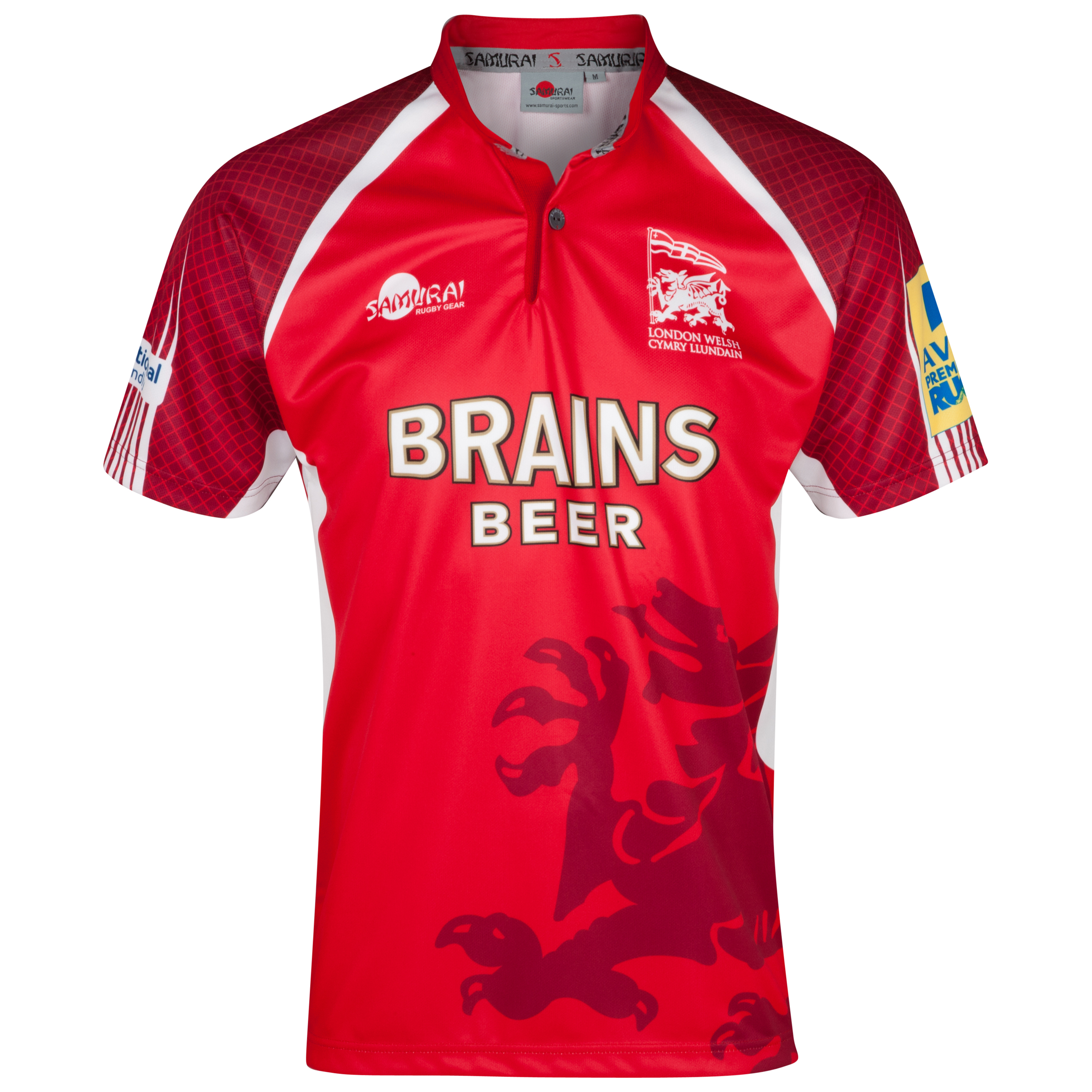 London Welsh Home Shirt 2013/14