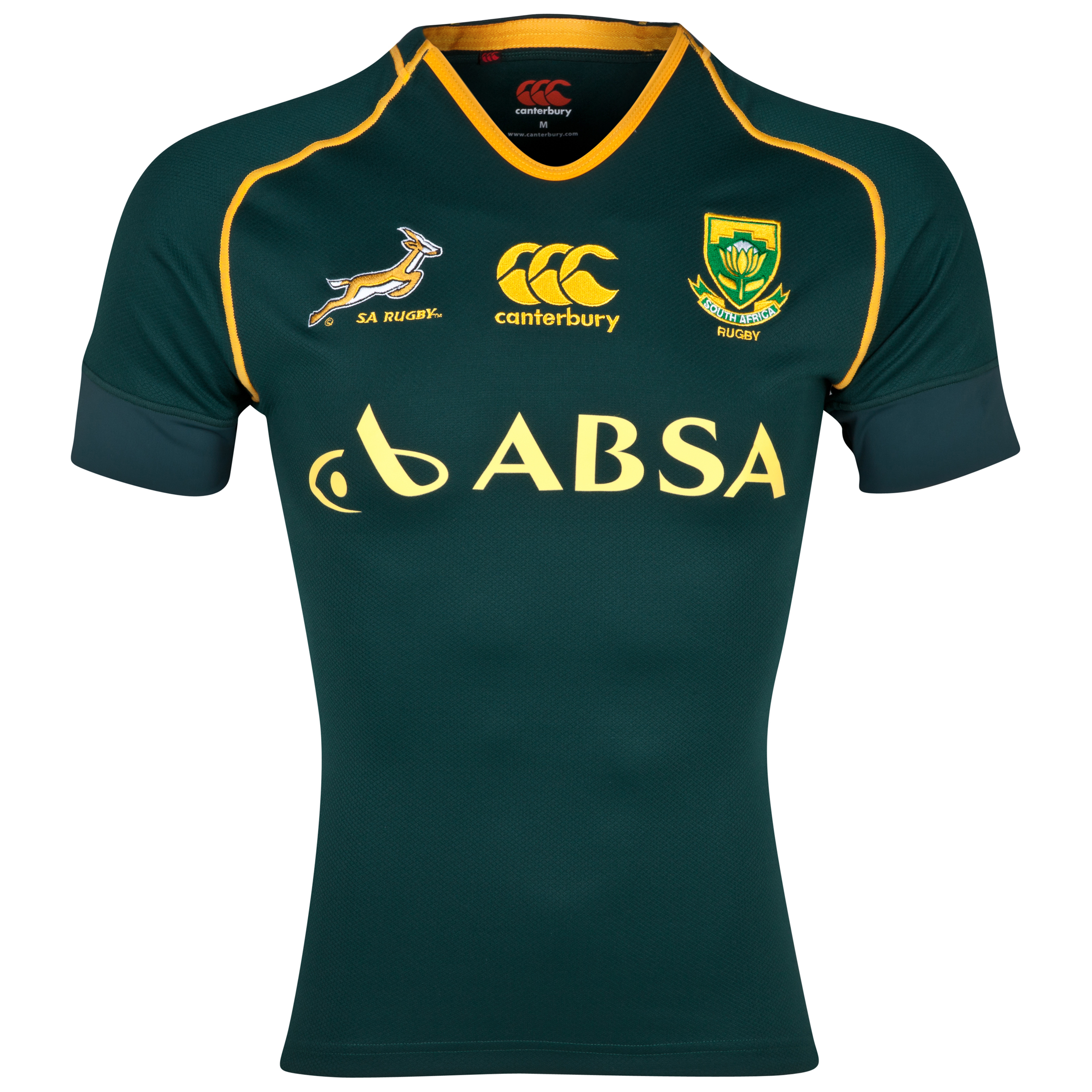 Springboks Home Rugby Test Shirt 2013/14