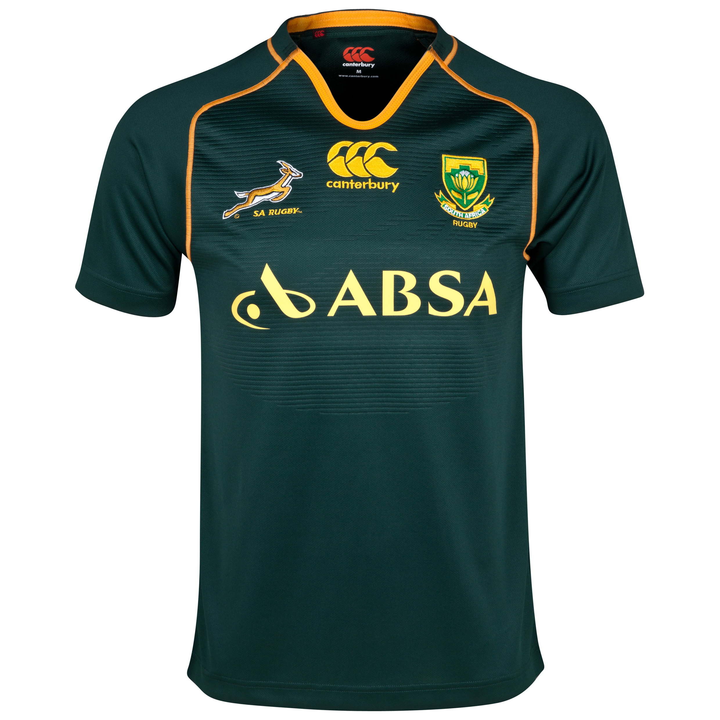 South Africa Springboks Home Rugby Pro Shirt 2013/14