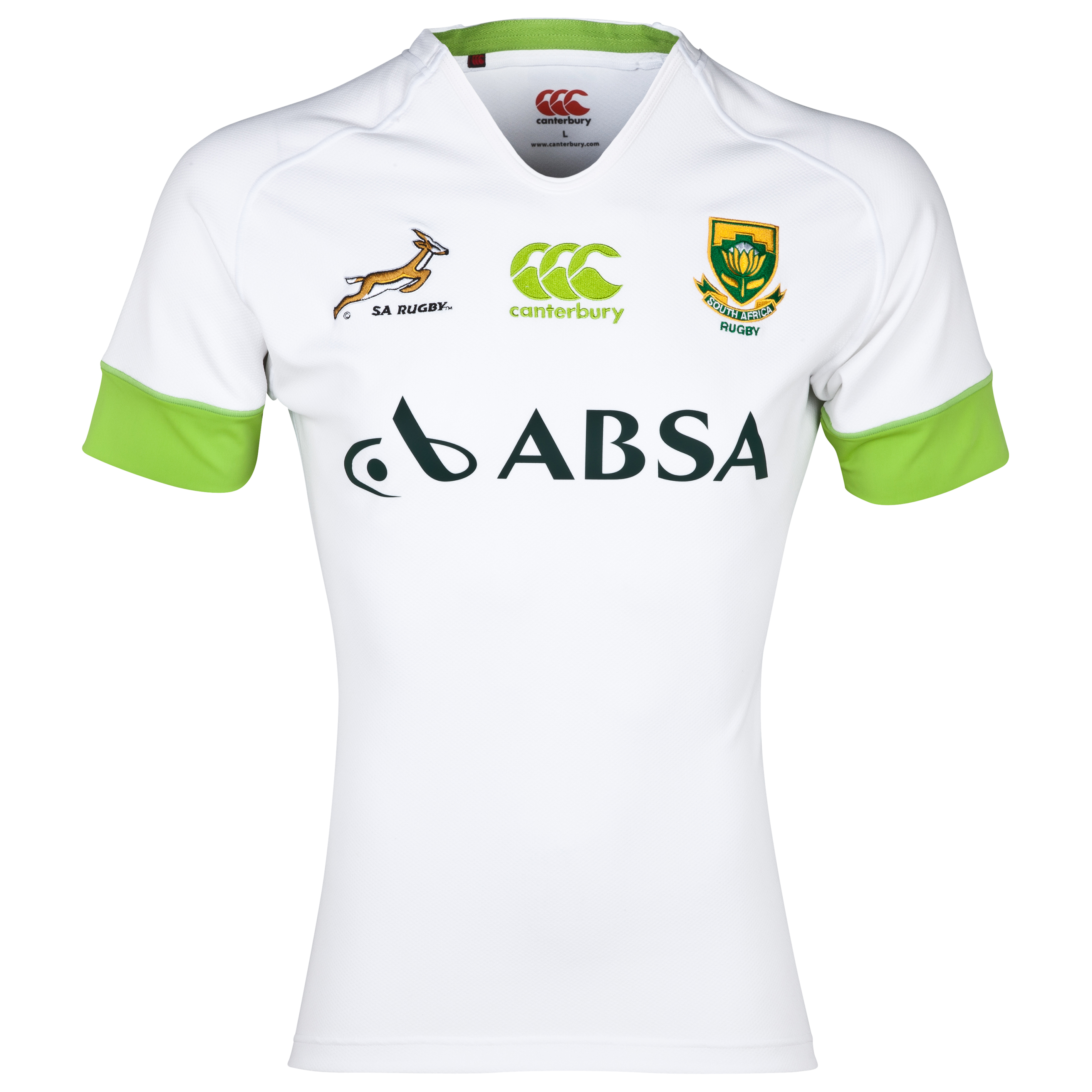 South Africa Springboks Alternate Rugby Test Shirt 2013/14