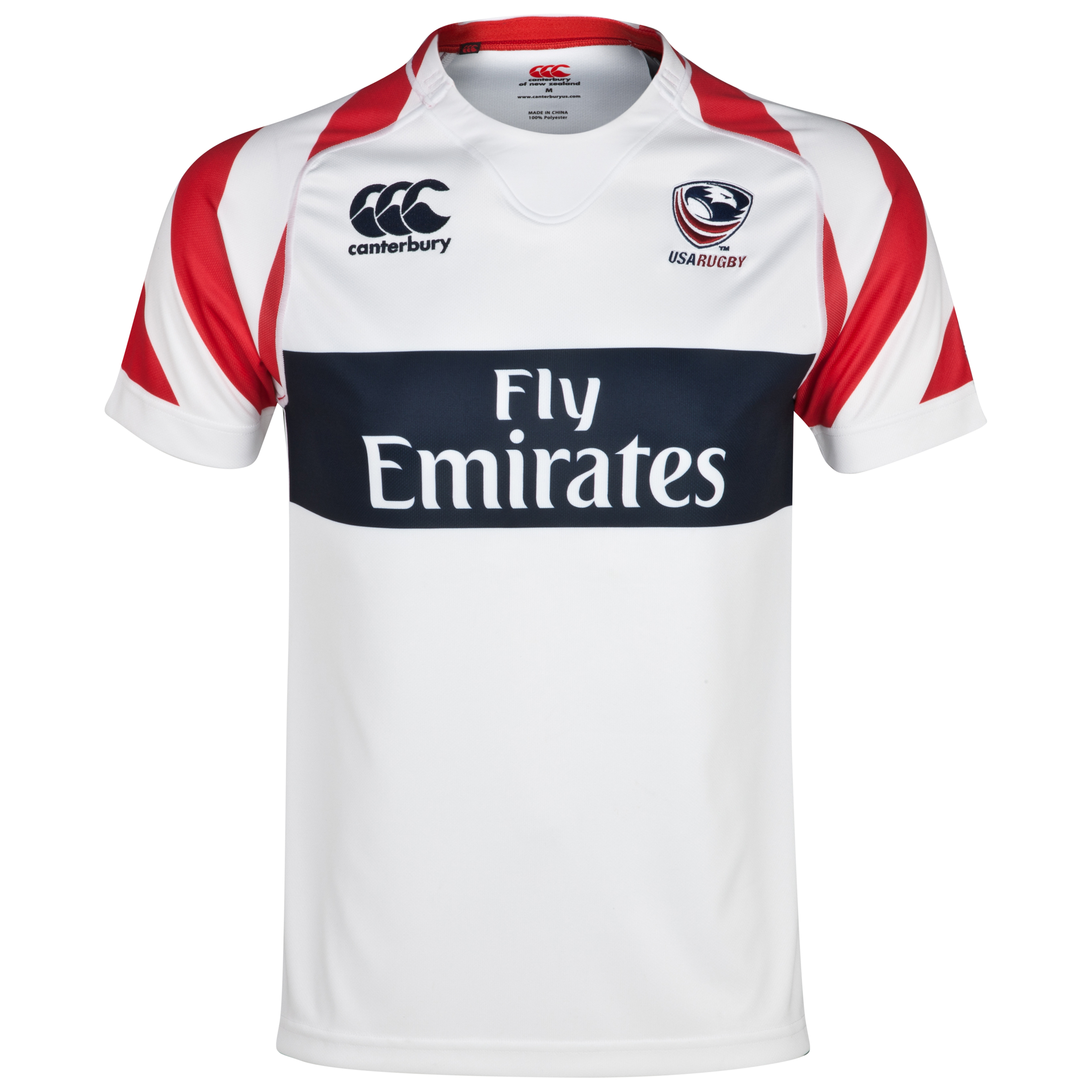 USA Eagles Home 7inchs Rugby Pro Shirt 2013/14