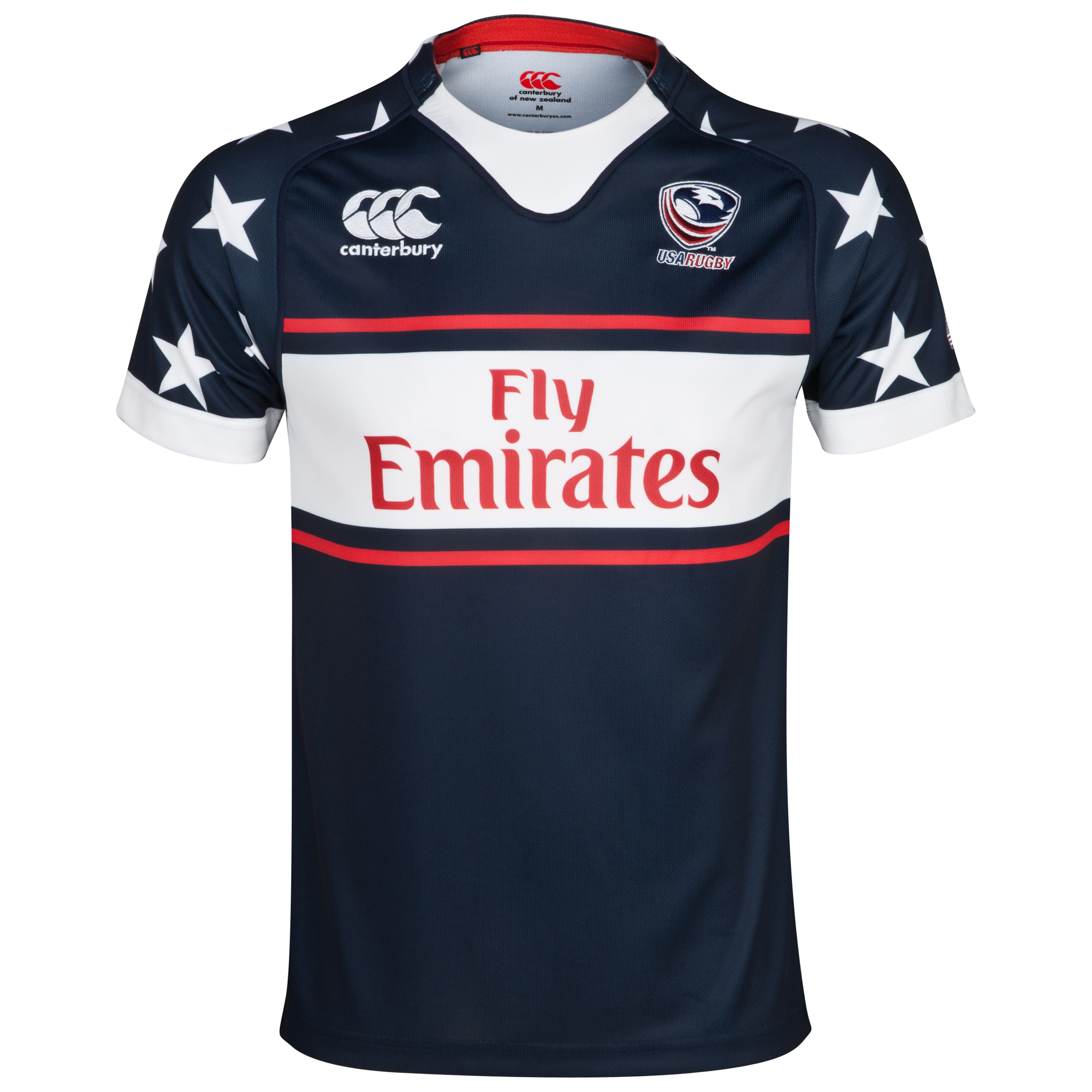 USA Eagles Alternate 7inchs Rugby Pro Shirt 2013/14