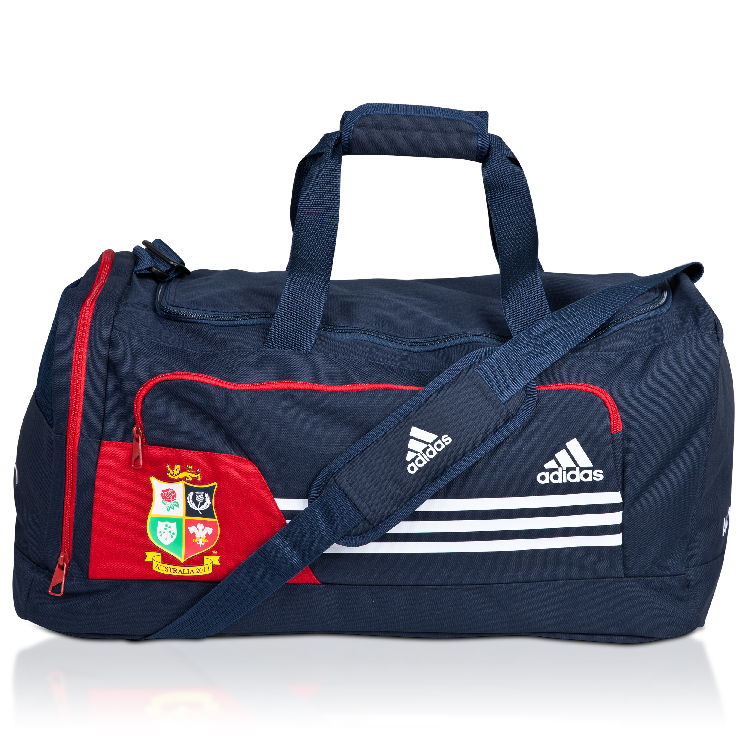 adidas British and Irish Lions Teambag - Collegiate Navy/University Red