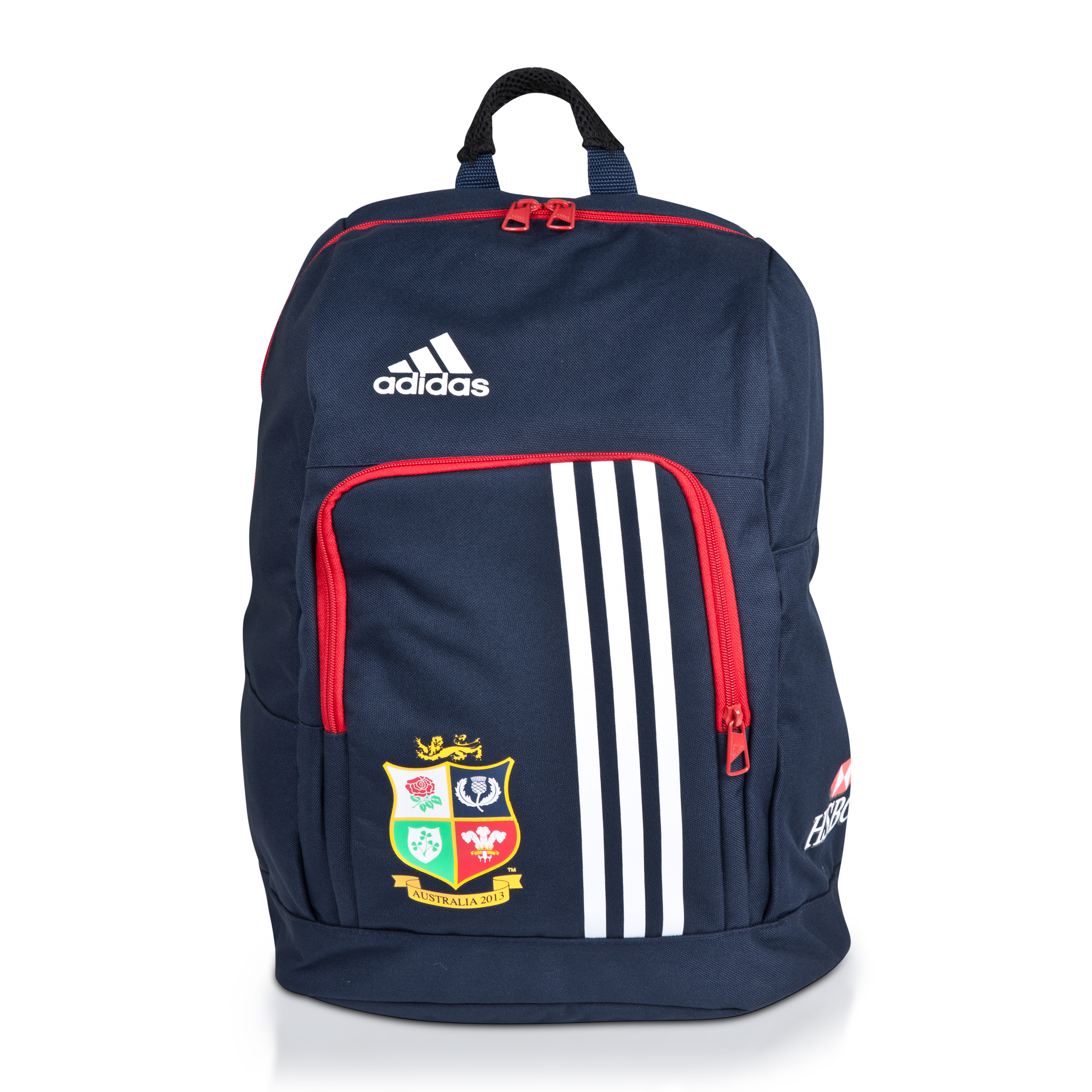 Adidas British and Irish Lions Backpack - Collegiate Navy/University Red
