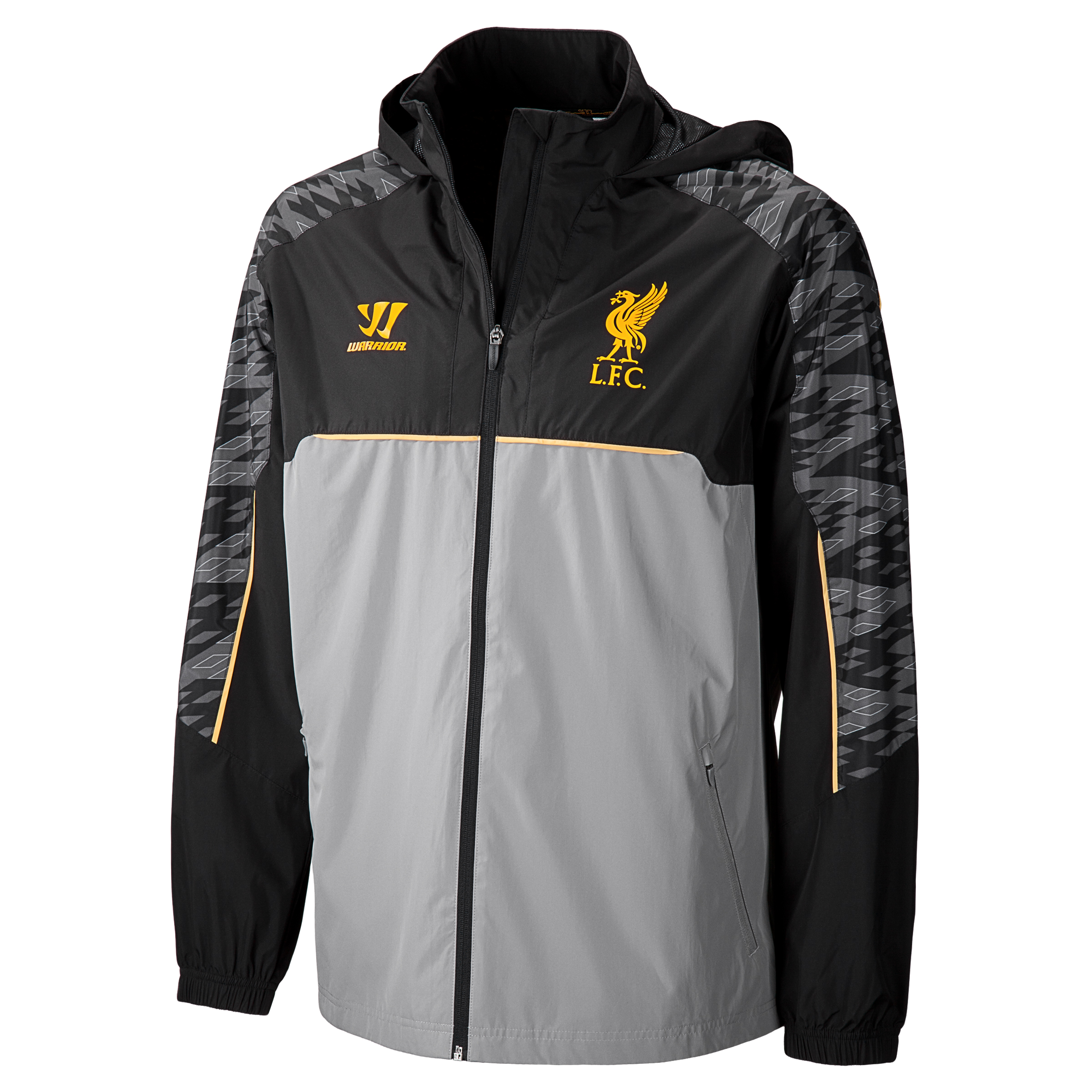 Liverpool Rain Jacket - Anthracite/Silver Filigree
