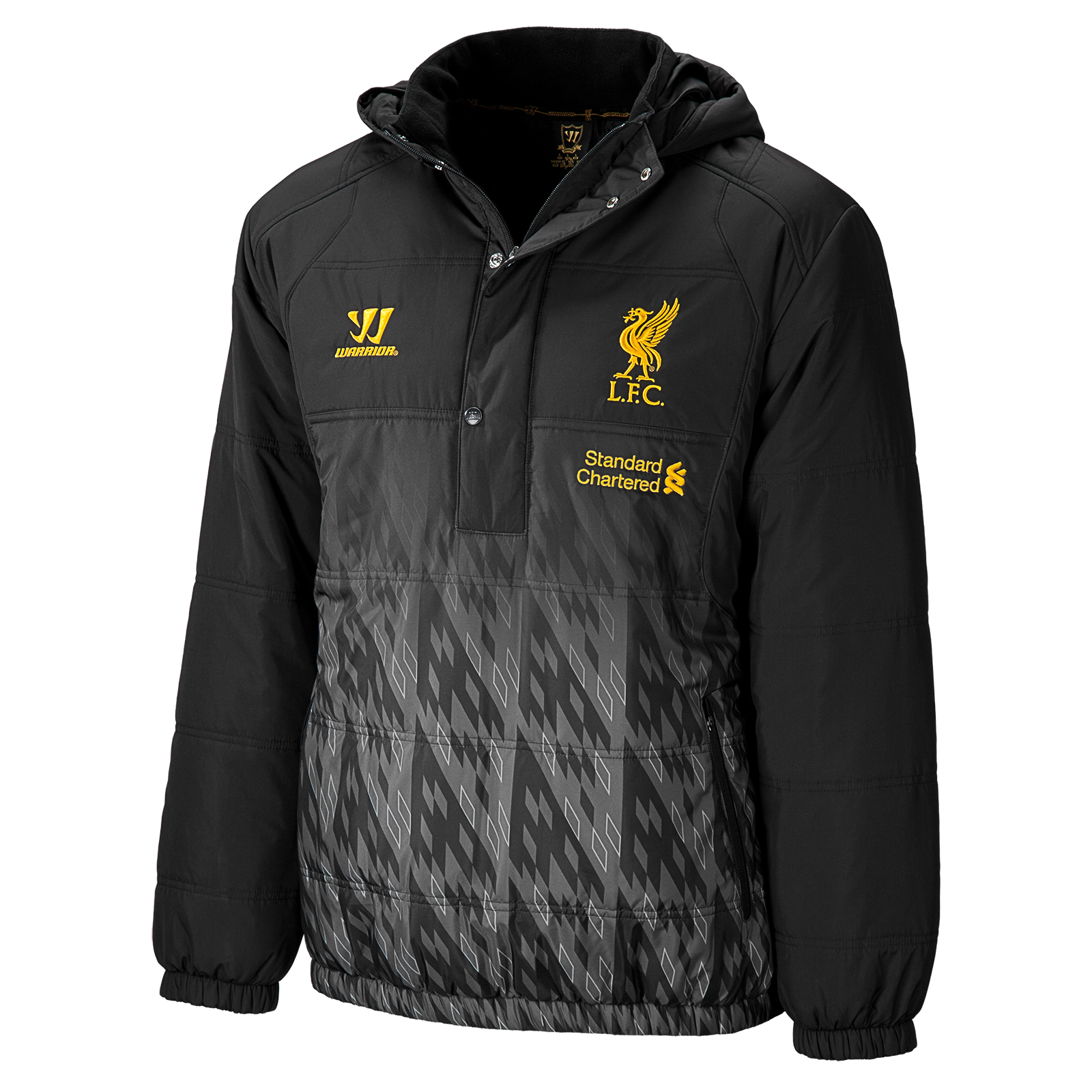 Liverpool Padded Jacket - Anthracite/Silver Filigree