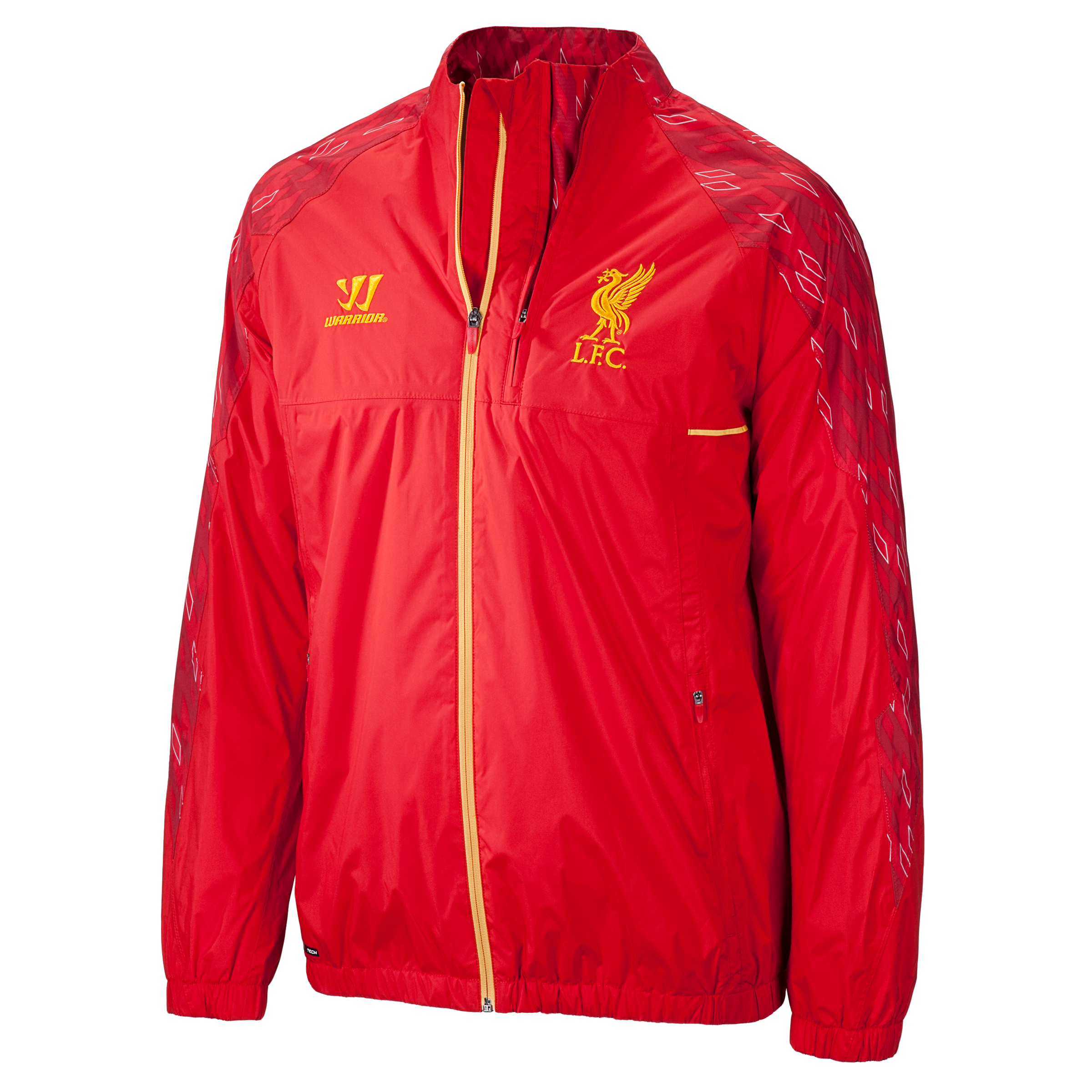 Liverpool Walk Out Jacket - High Risk Red