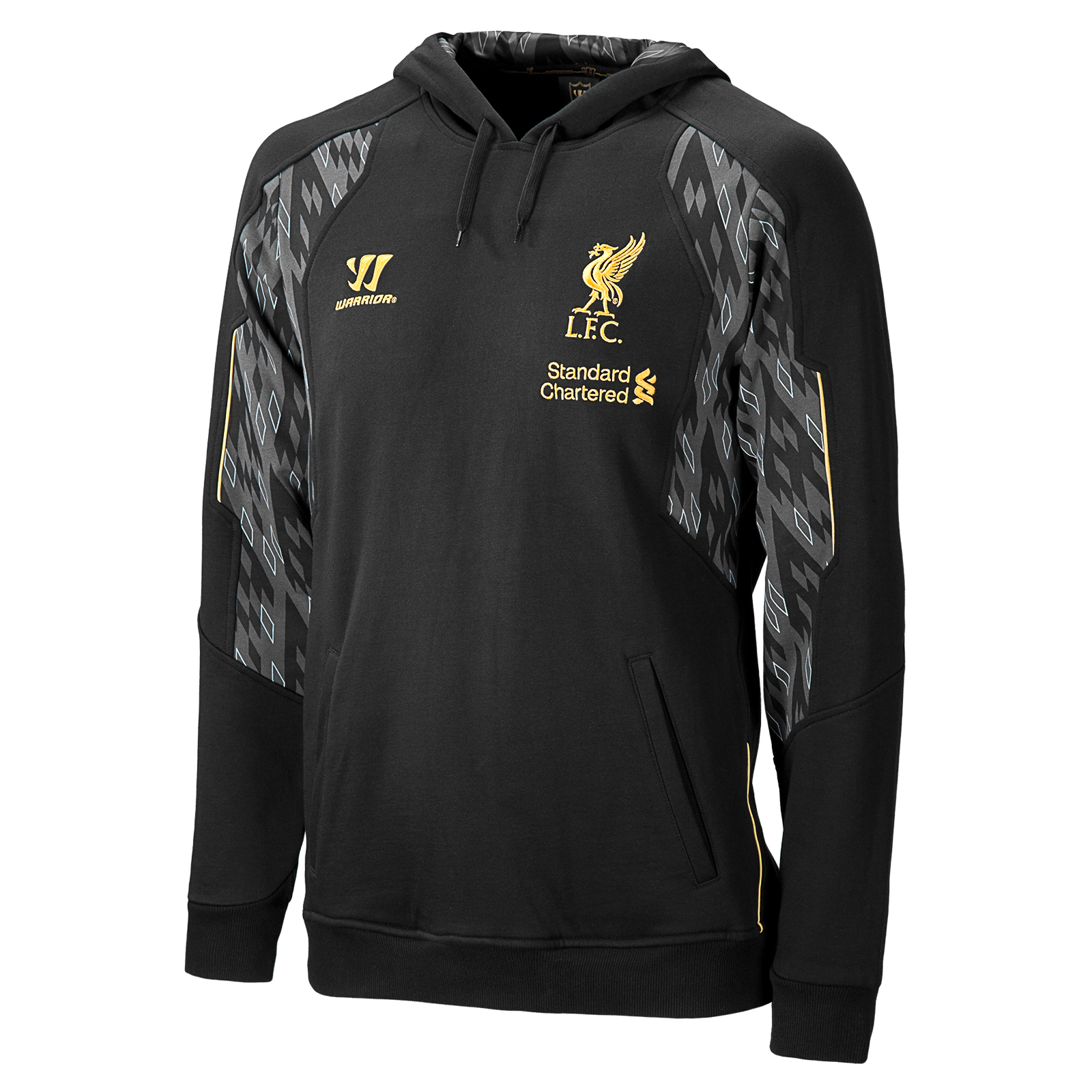 Liverpool Hoody - Anthracite/Silver Filigree