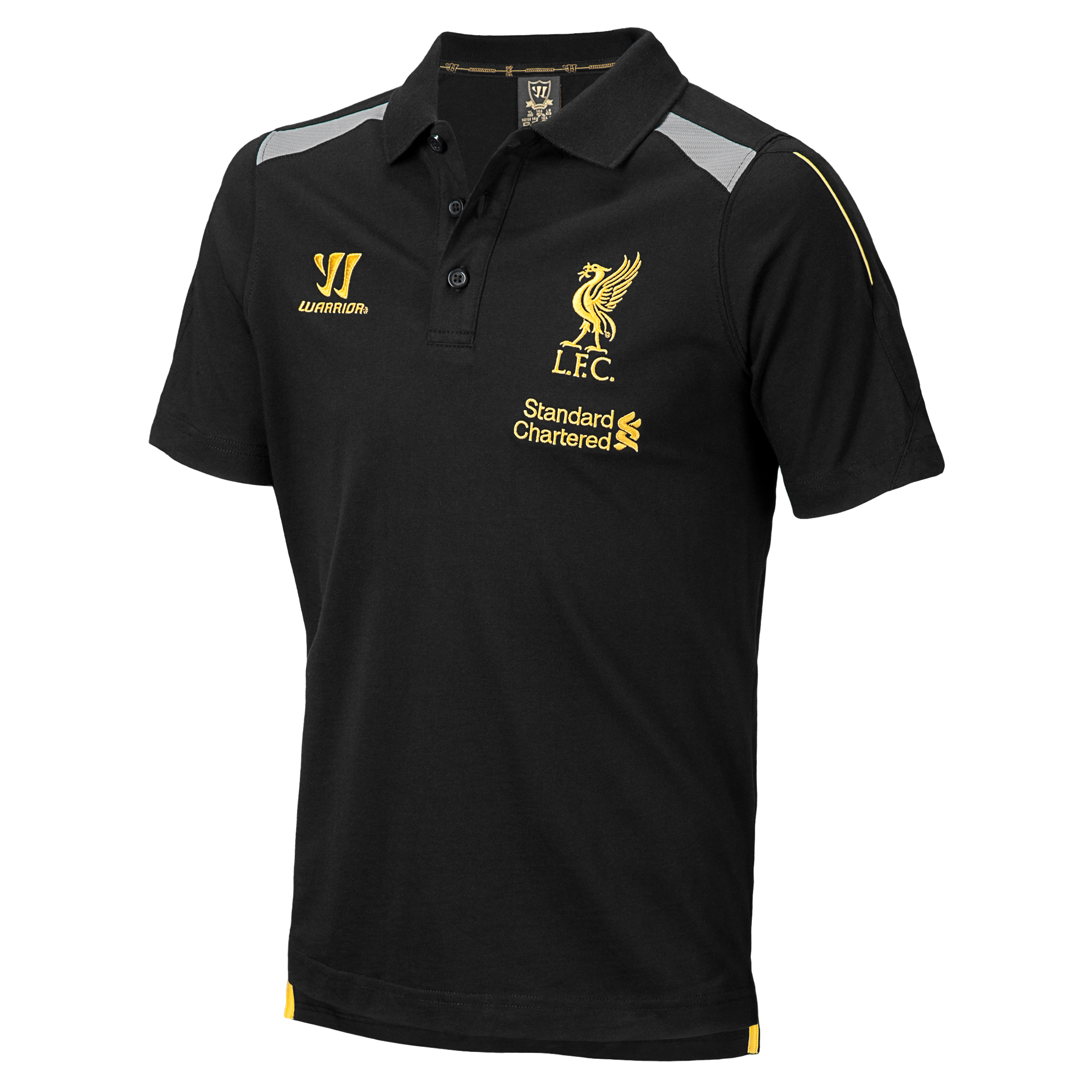 Liverpool Training Polo - Anthracite/Silver Filigree - Kids