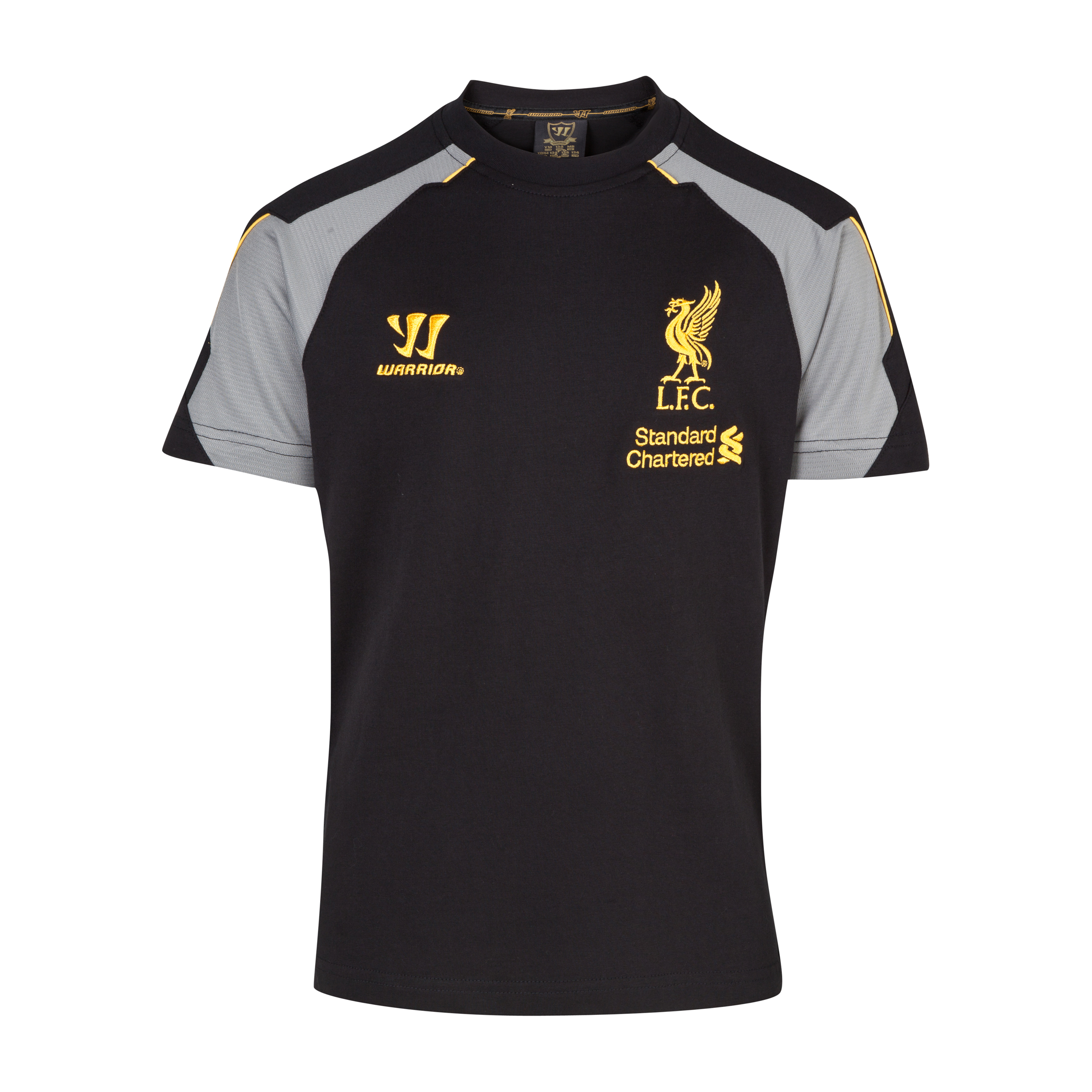 Liverpool Training T-Shirt - Anthracite/Silver Filigree - Kids