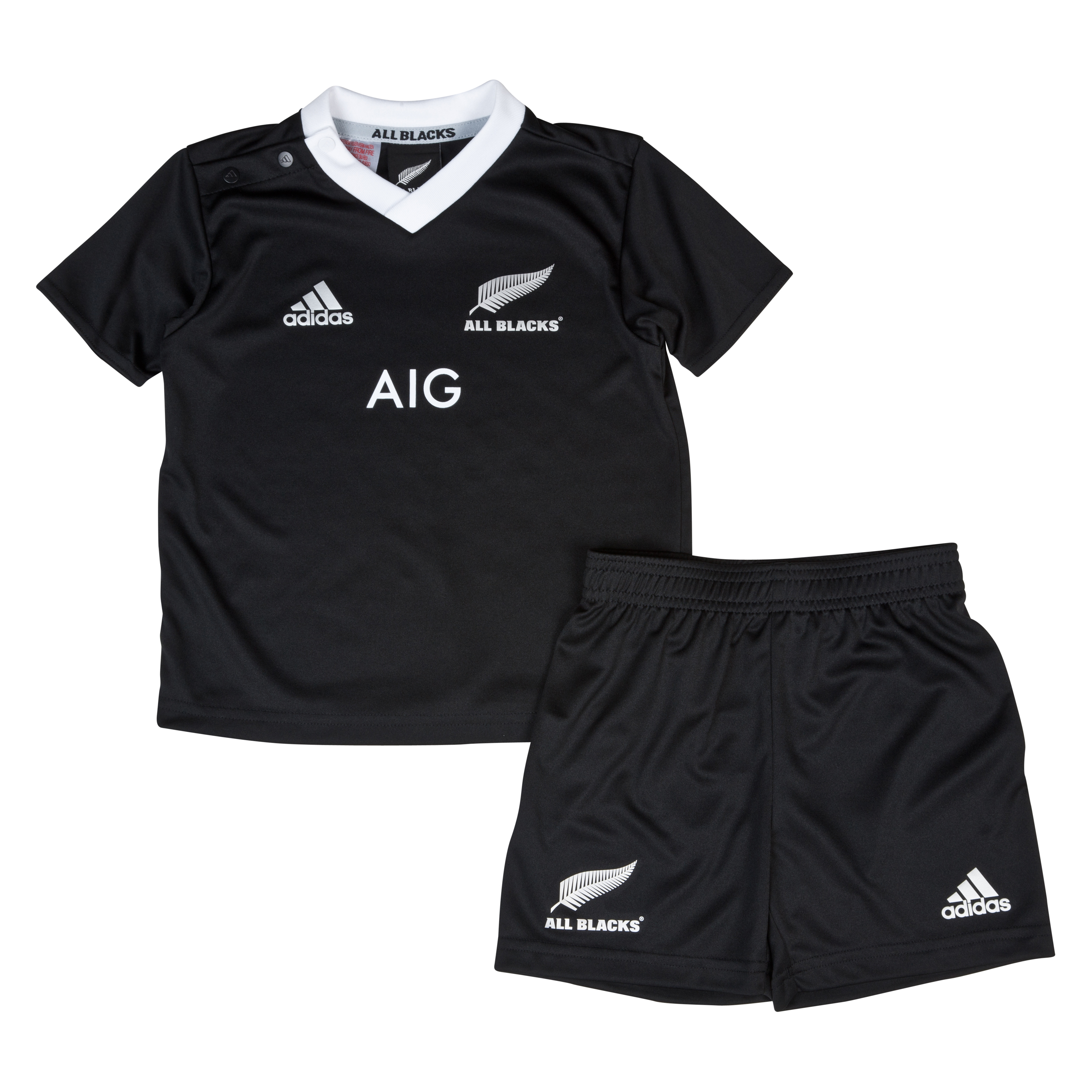 All Blacks Home Babykit 2013/14 - Black/White