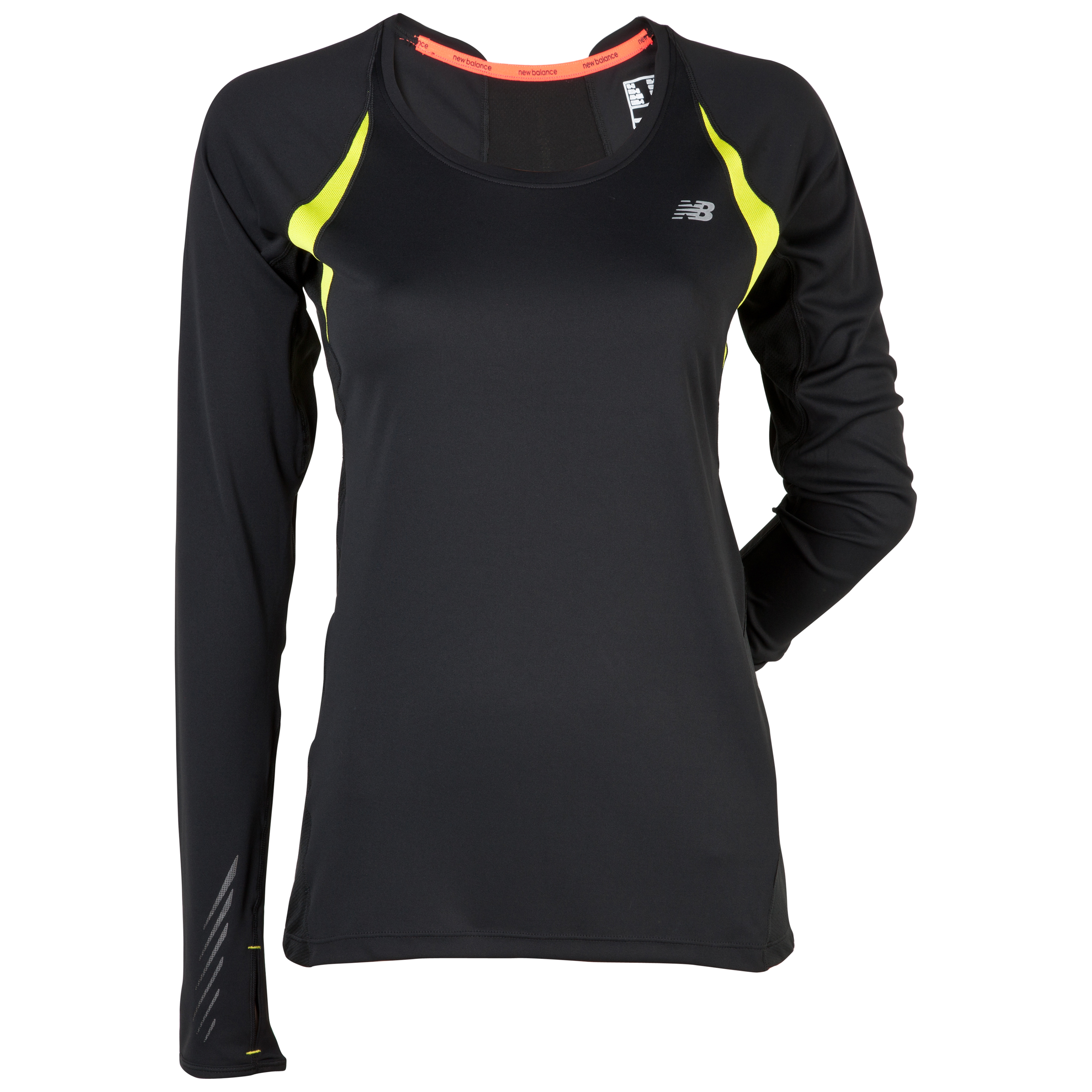 New Balance Impact Long Sleeve - Black - Womens