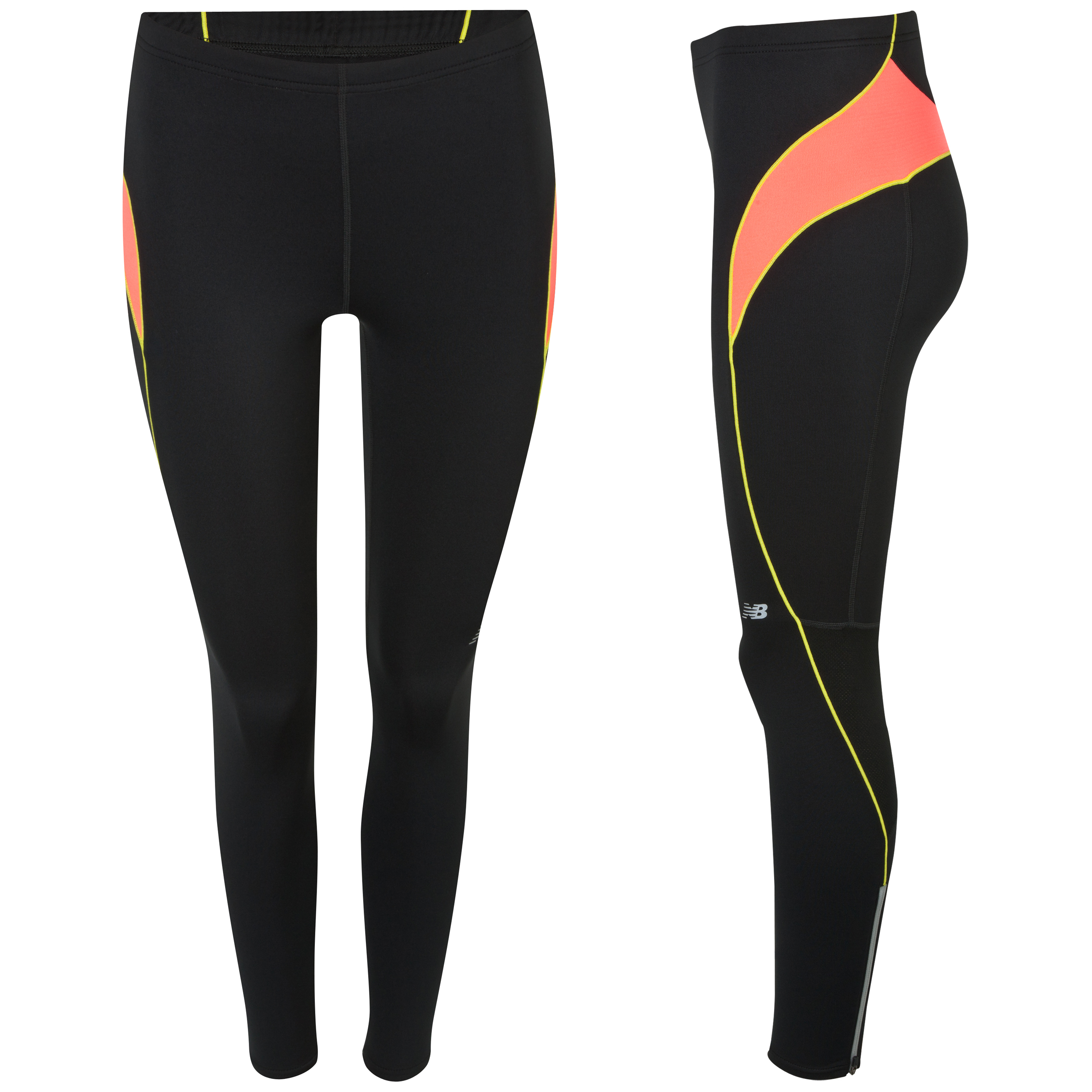 New Balance Momentum Tight - Fiery Coral - Womens