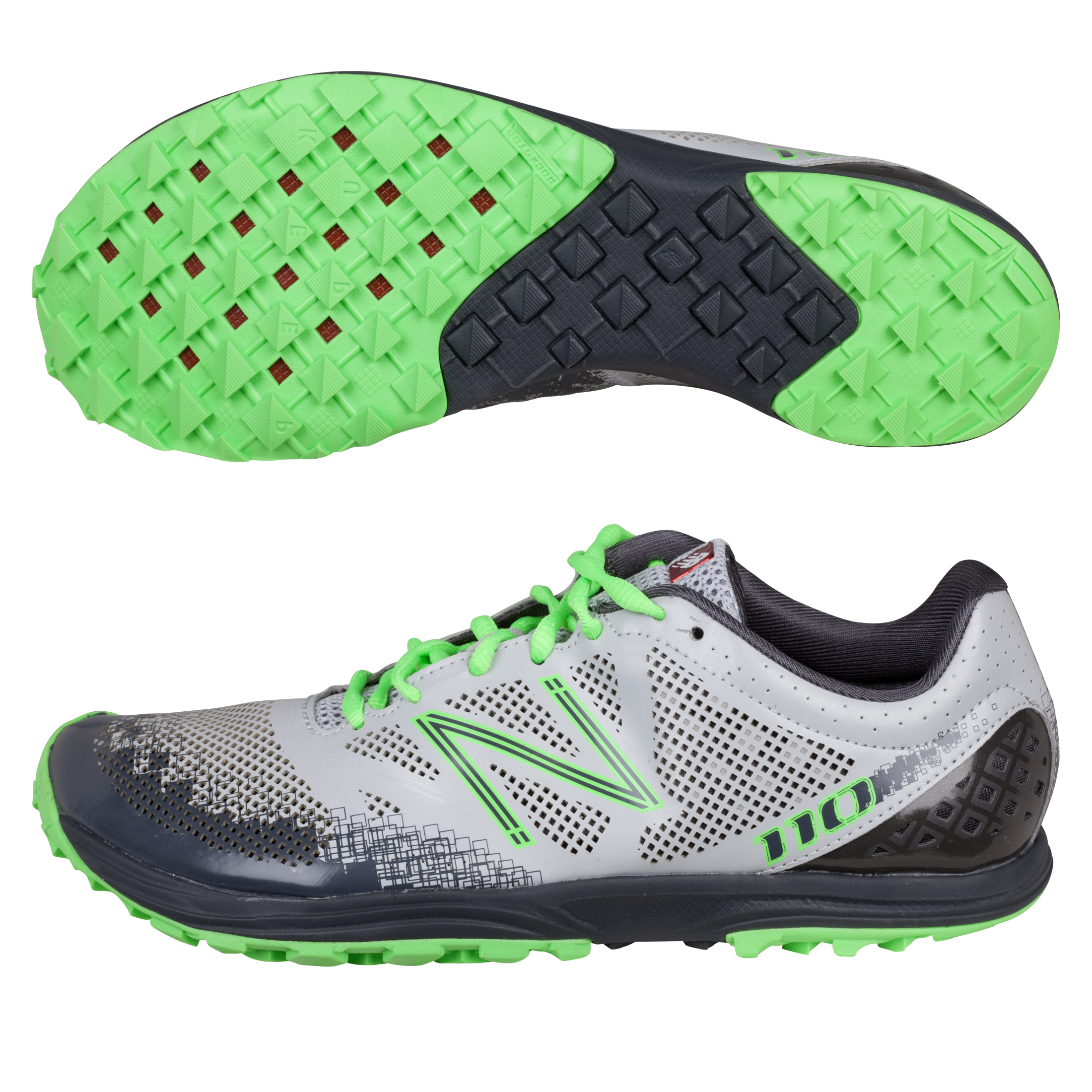 New Balance MT110v1 Trainer - Grey/Green