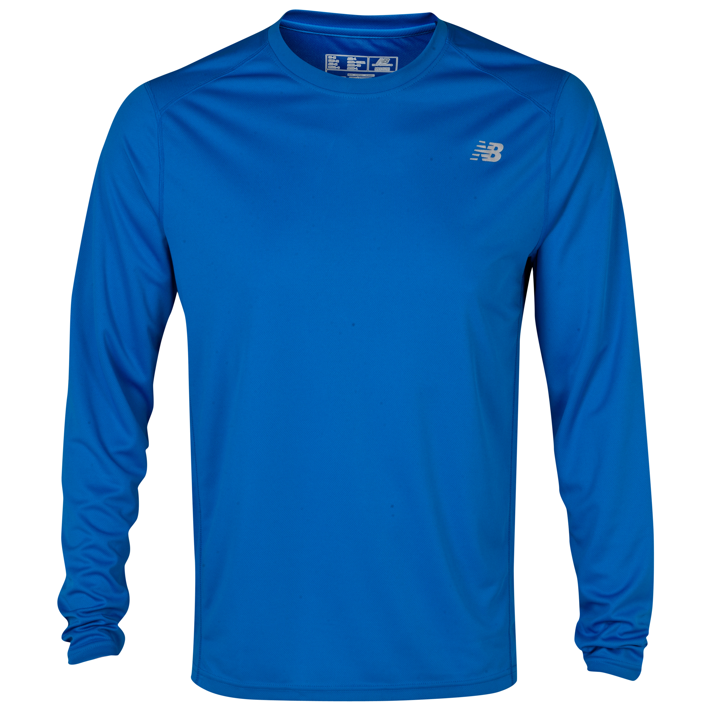New Balance Go 2 Long Sleeve Top - Vision Blue