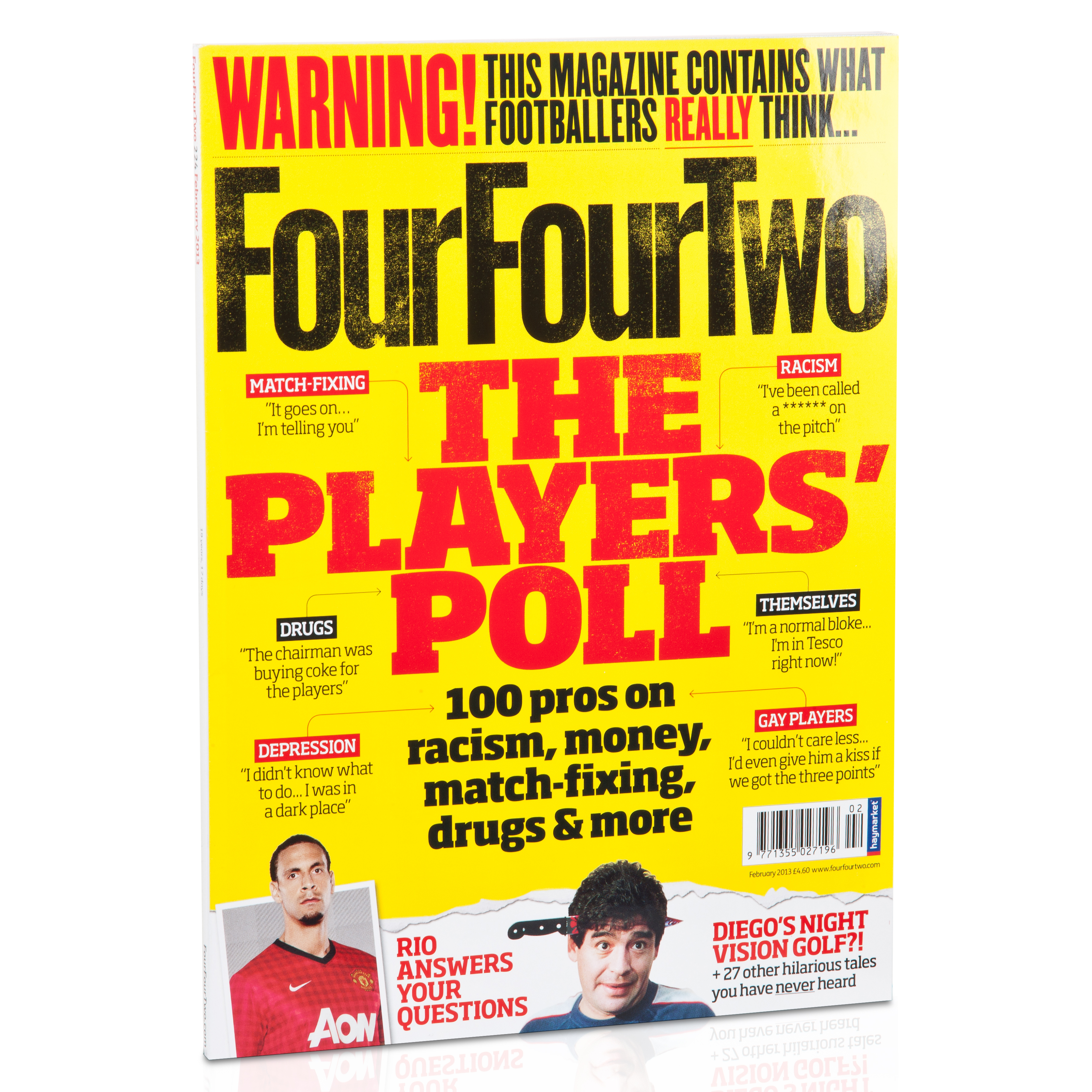 Image of . FourFourTwo Magazine, Multi-coloured