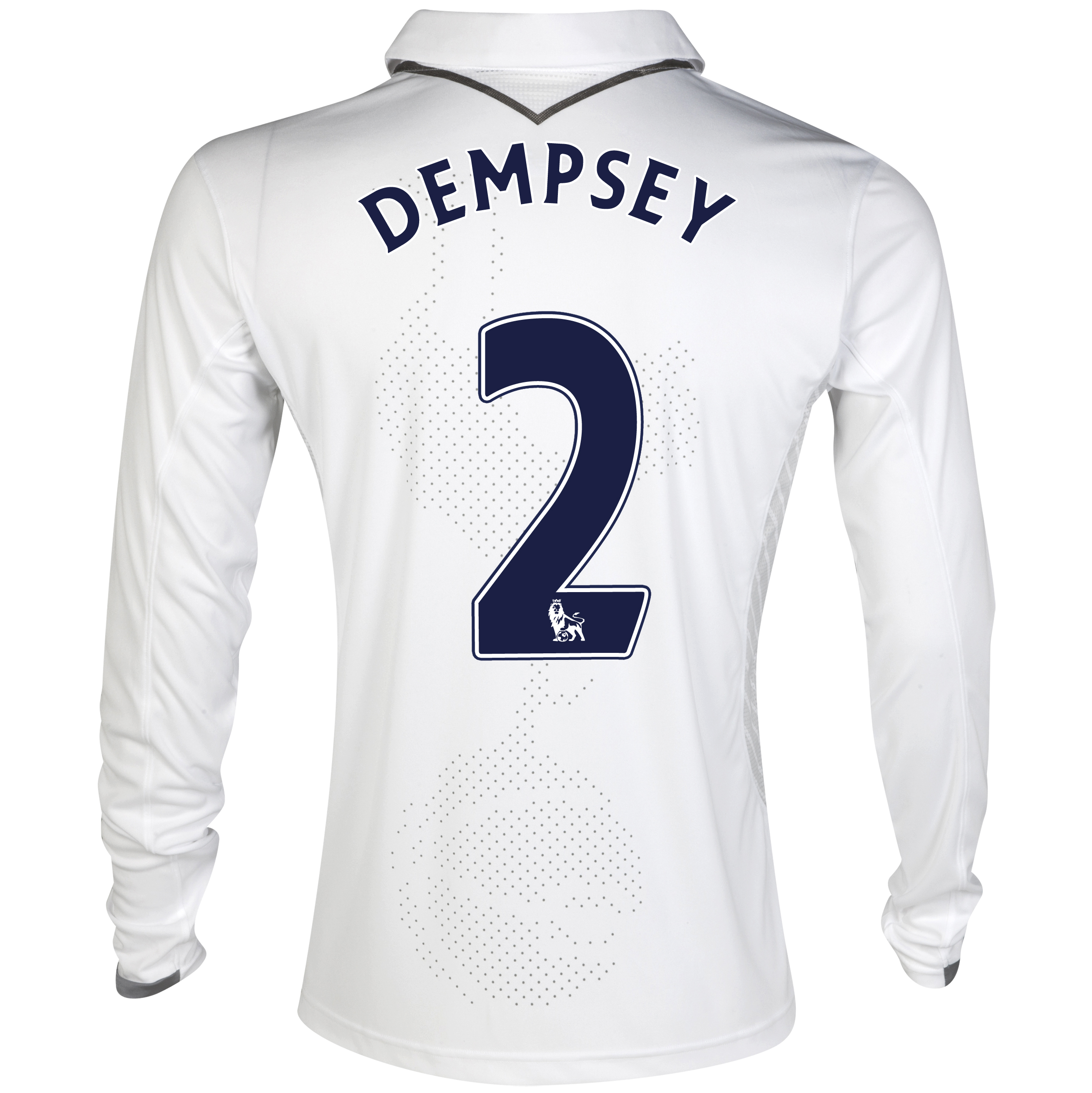 Tottenham Hotspur Home Shirt 2012/13 - Long Sleeve with Dempsey 2 printing