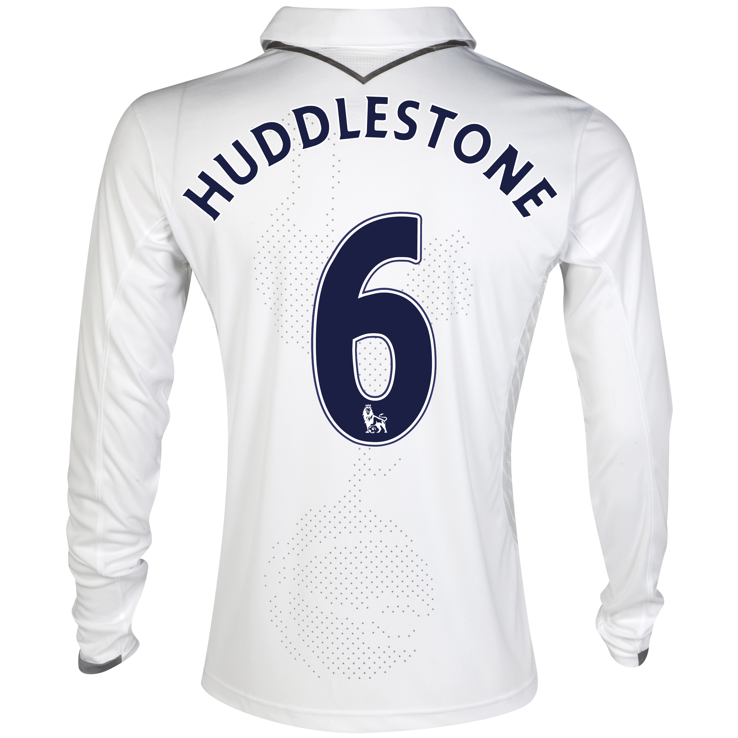 Tottenham Hotspur Home Shirt 2012/13 - Long Sleeve with Huddlestone 6 printing