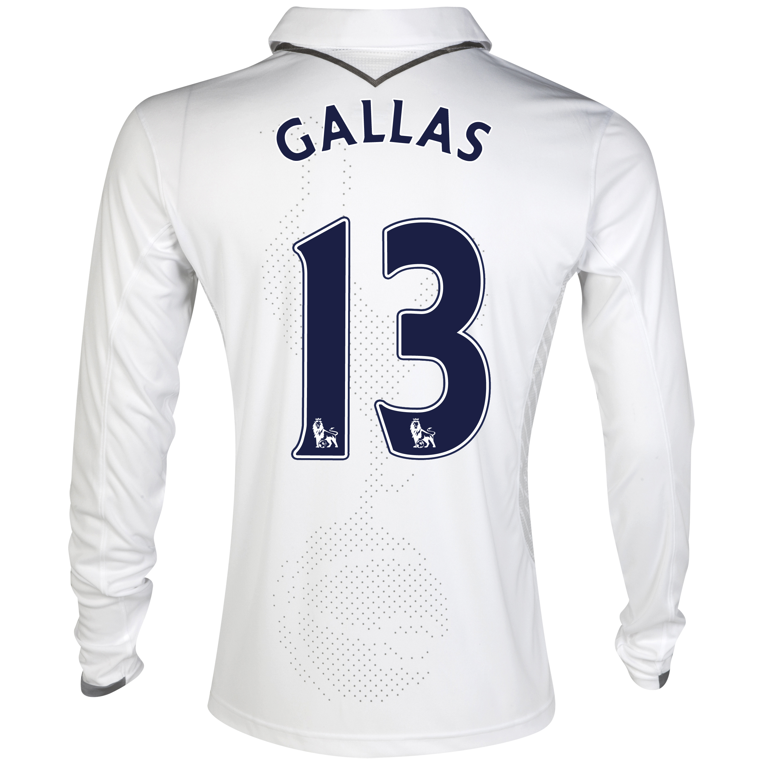 Tottenham Hotspur Home Shirt 2012/13 - Long Sleeve with Gallas 13 printing