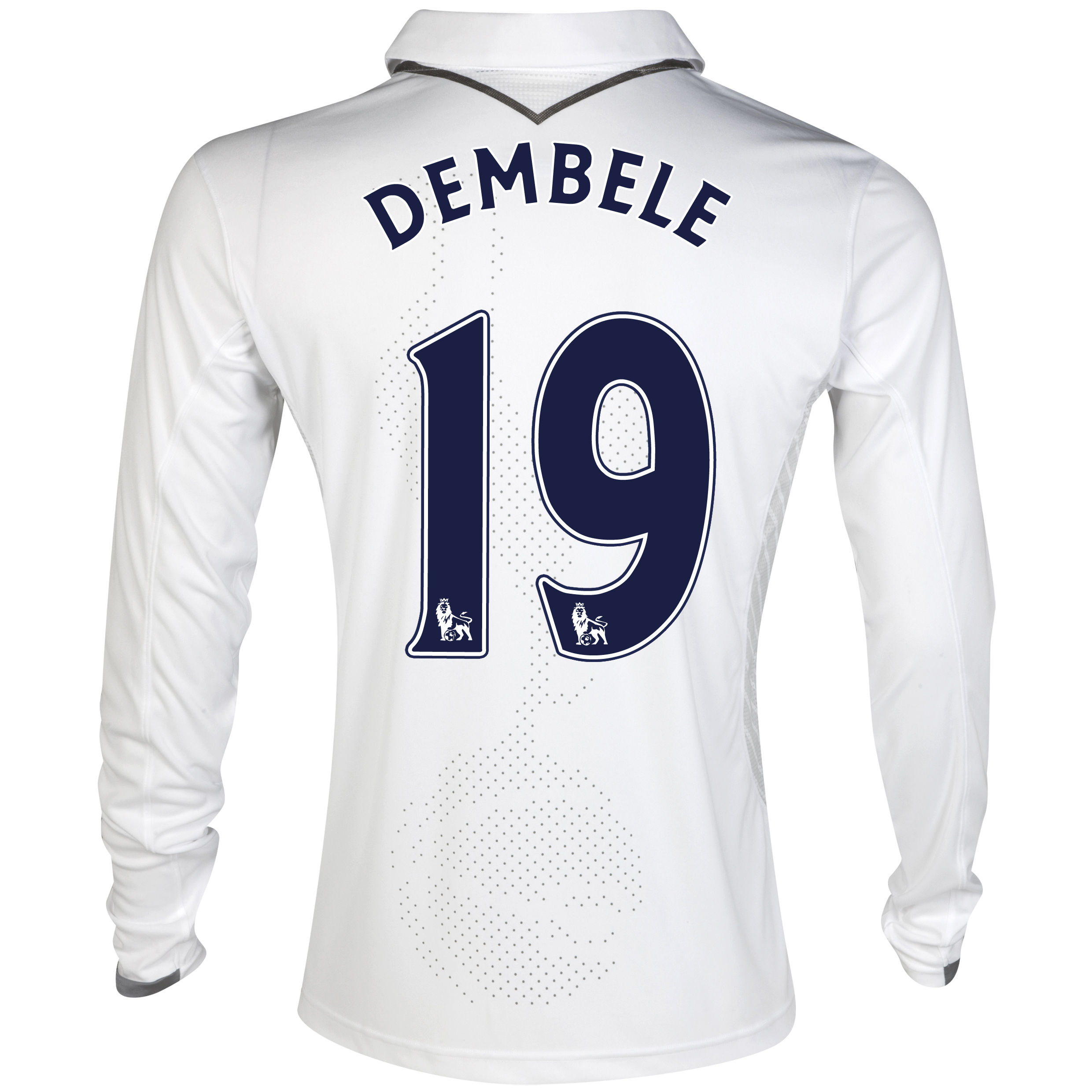 Tottenham Hotspur Home Shirt 2012/13 - Long Sleeve with Dembele 19 printing