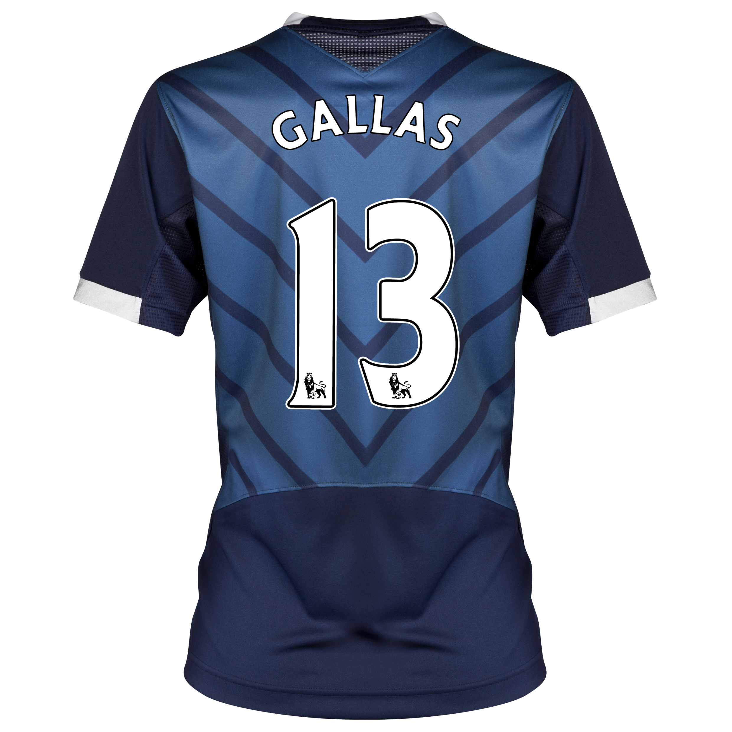 Tottenham Hotspur Away Shirt 2012/13 - Womens with Gallas 13 printing