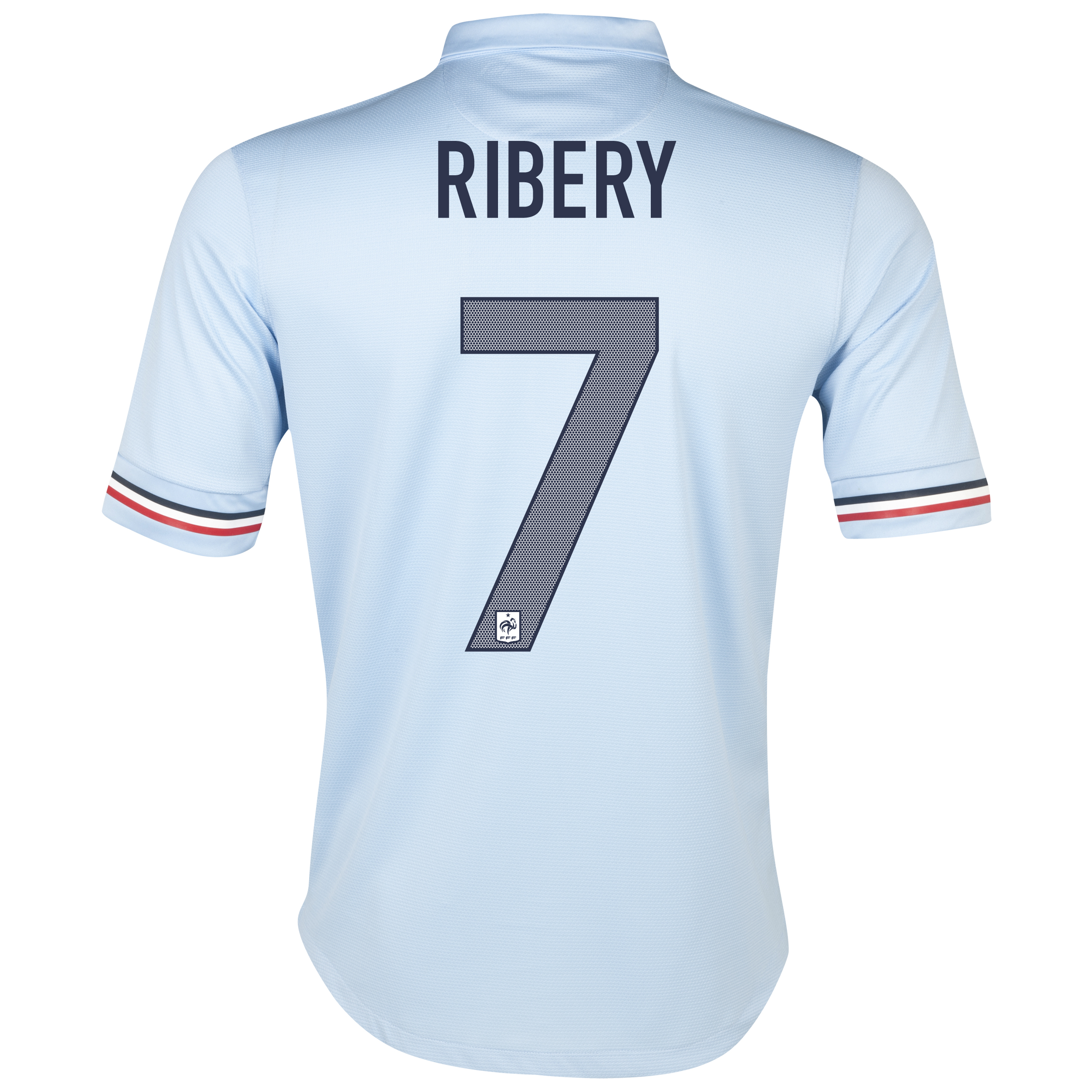 France Away Shirt 2013/14 with Ribery 7 printing