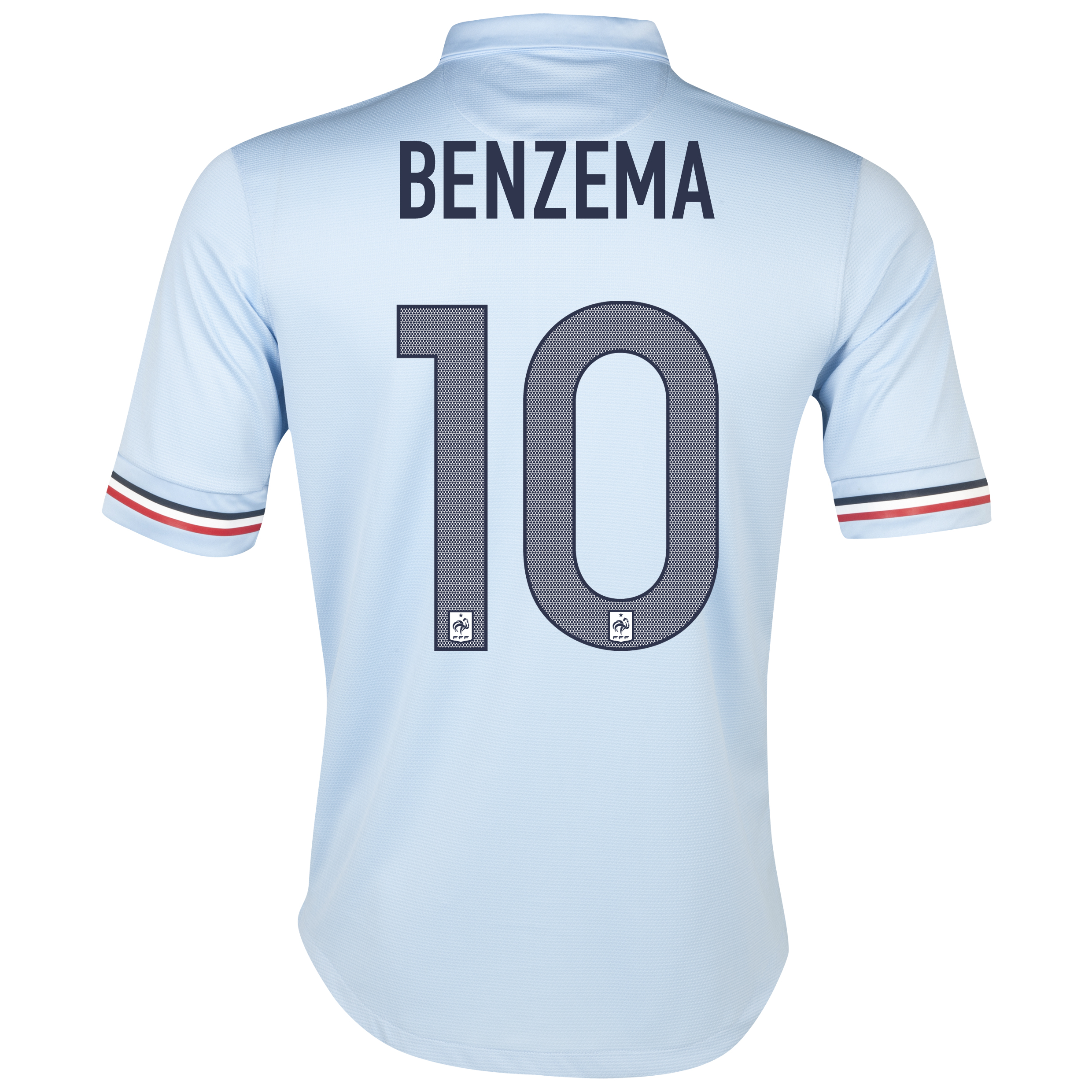 France Away Shirt 2013/14 with Benzema  10 printing
